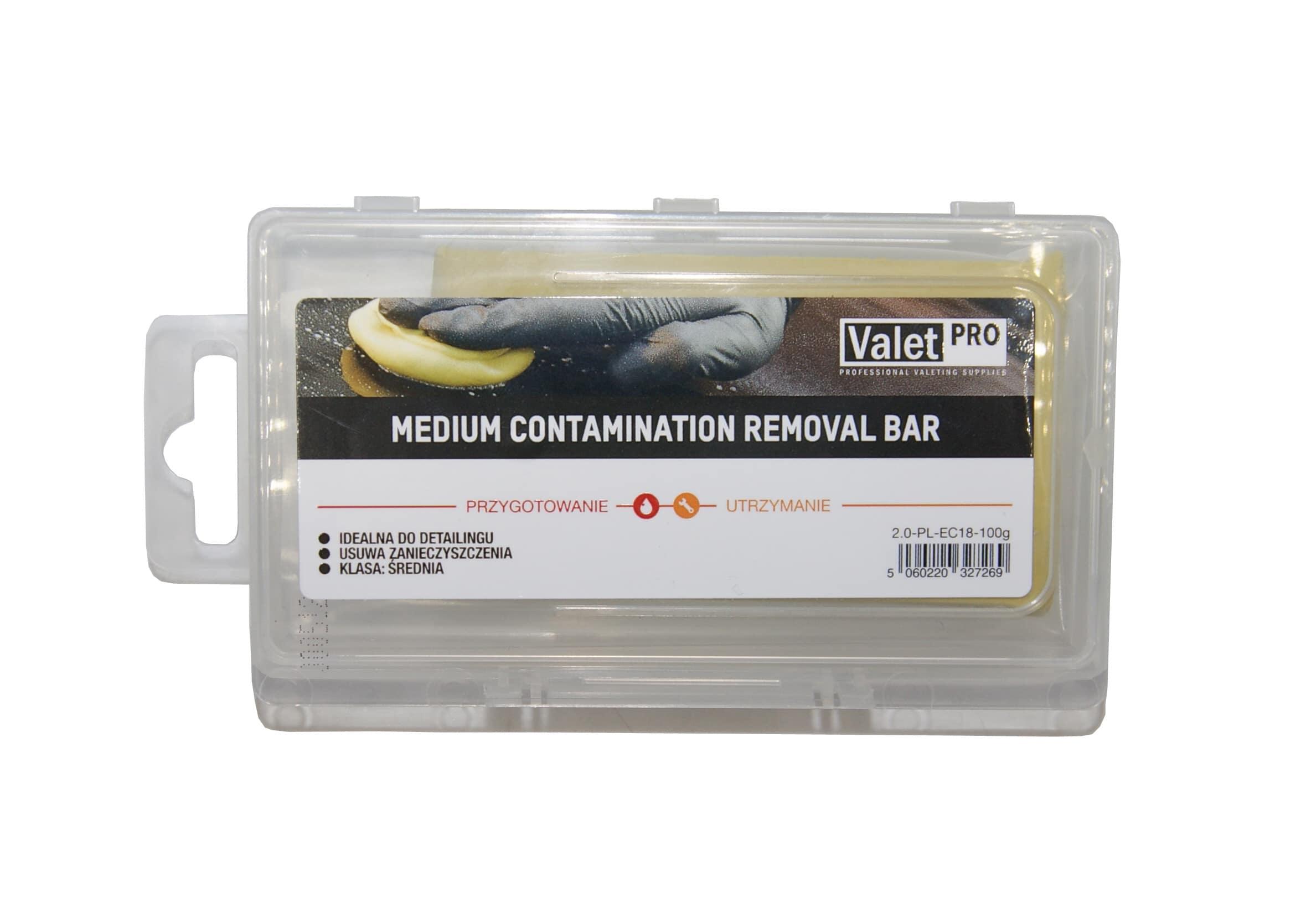 ValetPro Medium Removal Bar 100g Średniościerna Glinka do Czyszczenia Lakieru