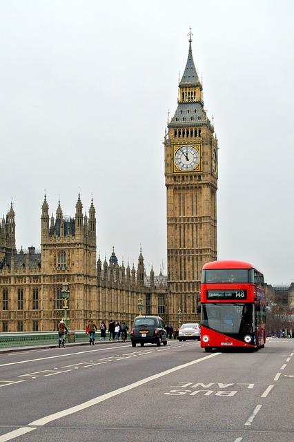 Buspas w Londynie