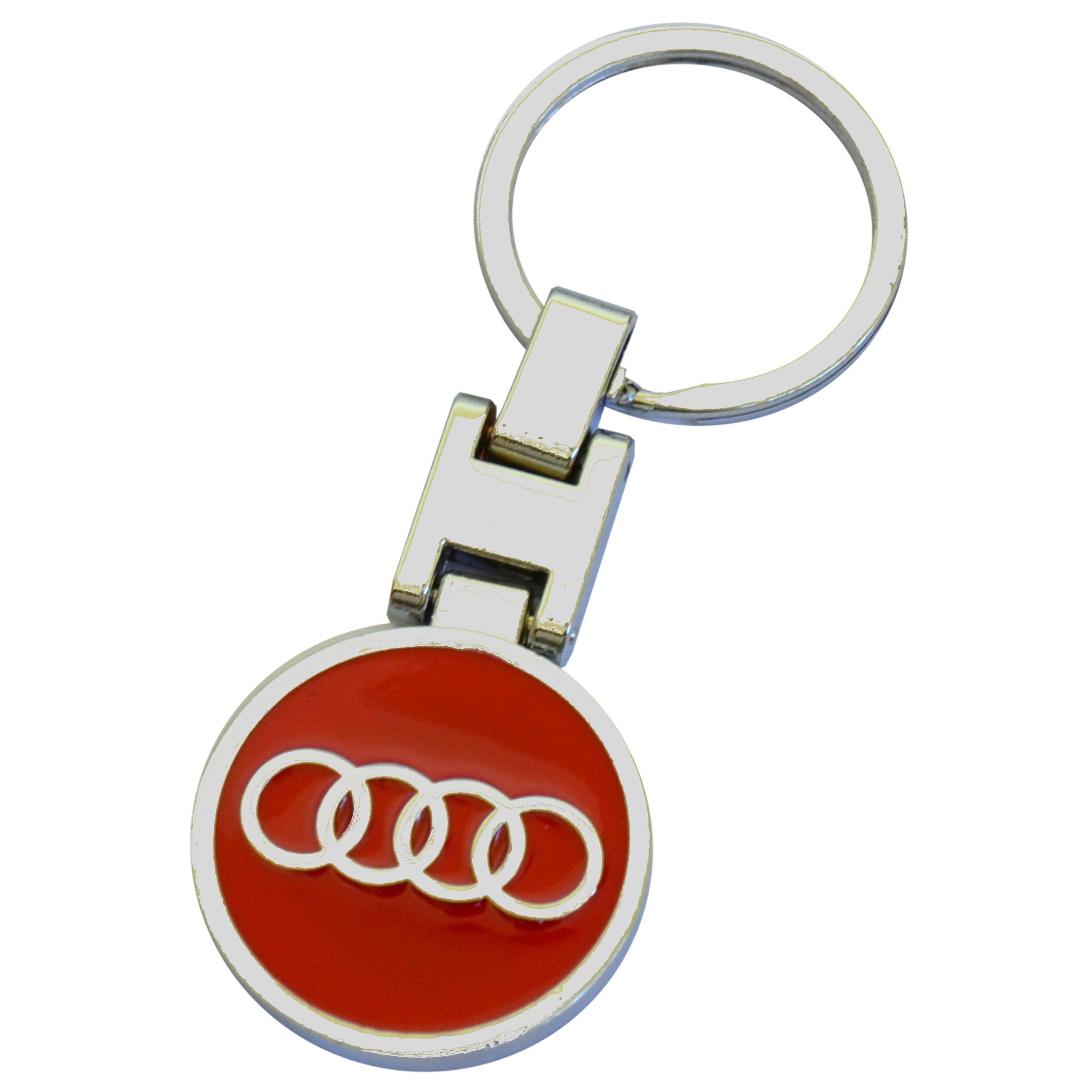 Breloczek Metalowy do Kluczyków samochodowych Audi