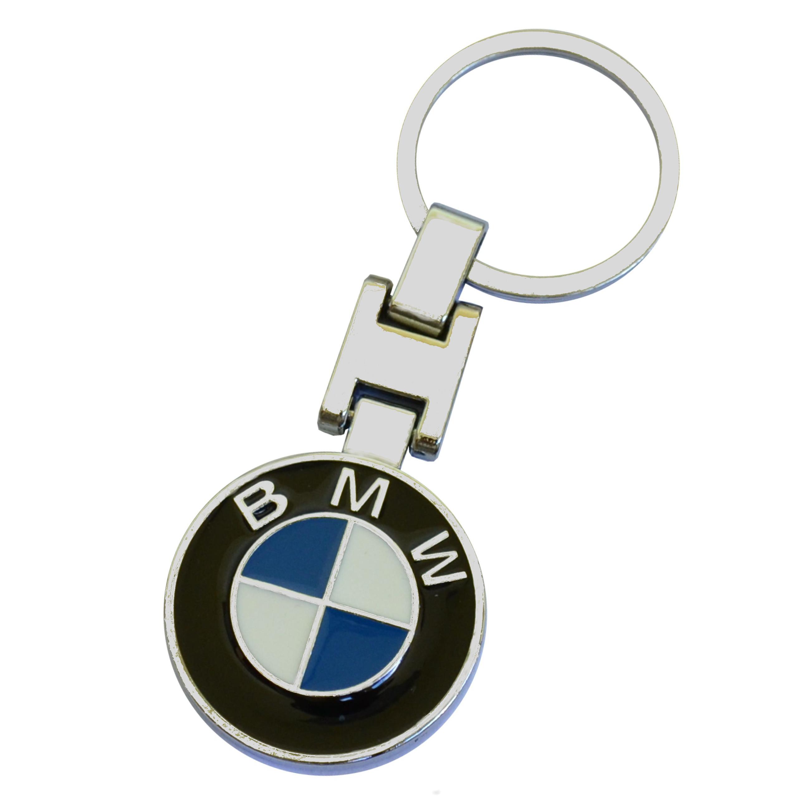 Breloczek Metalowy do Kluczyków samochodowych BMW