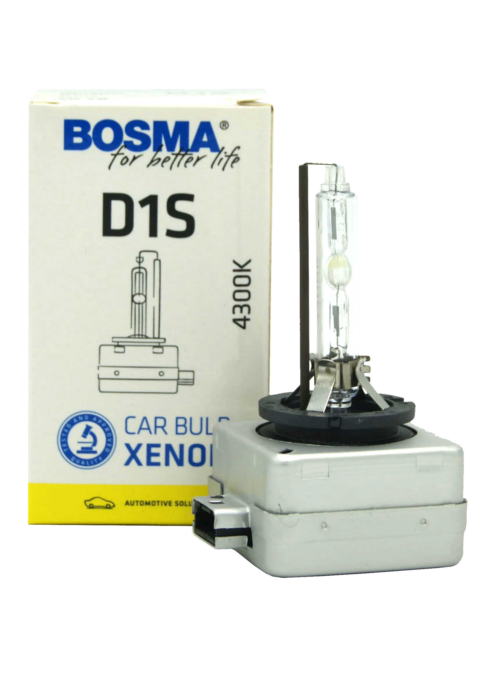 Xenon Bosma D1S 4300k 85V 35W