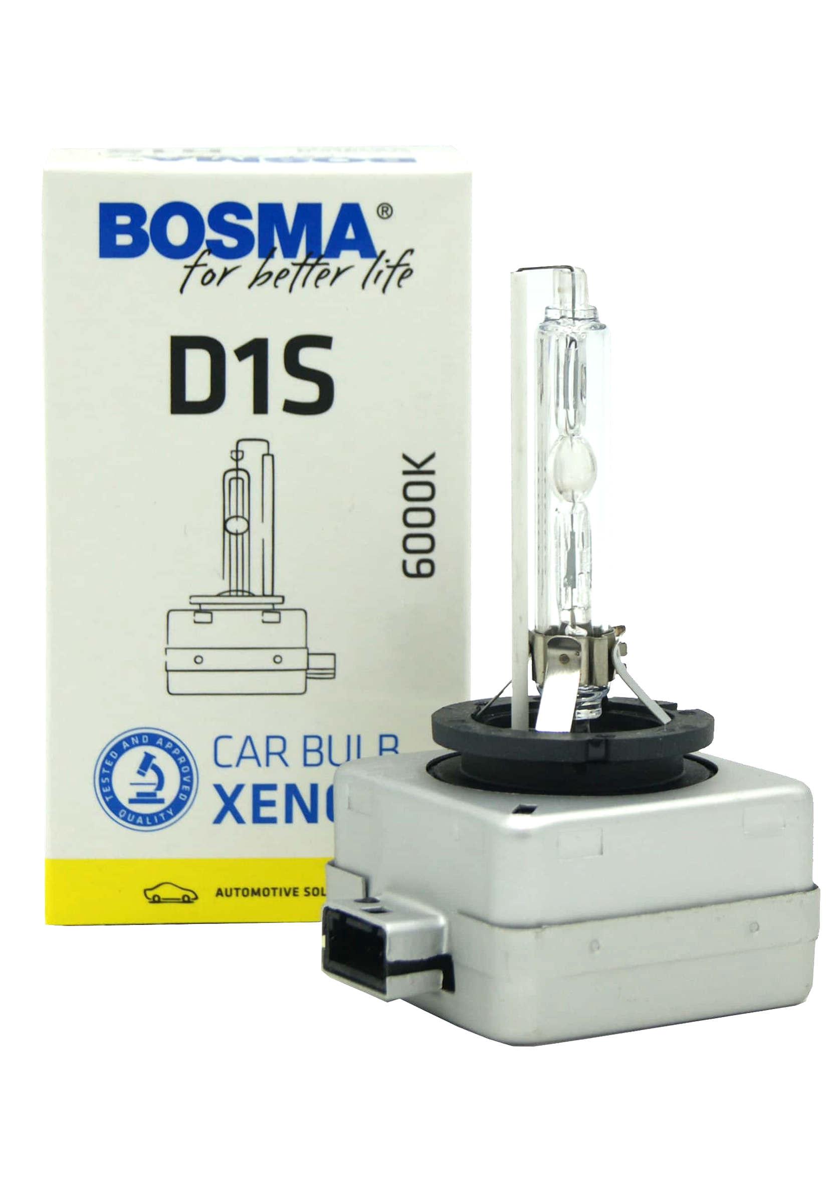 Żarnik Ksenonowy D1S Bosma 6000k 85V 35W