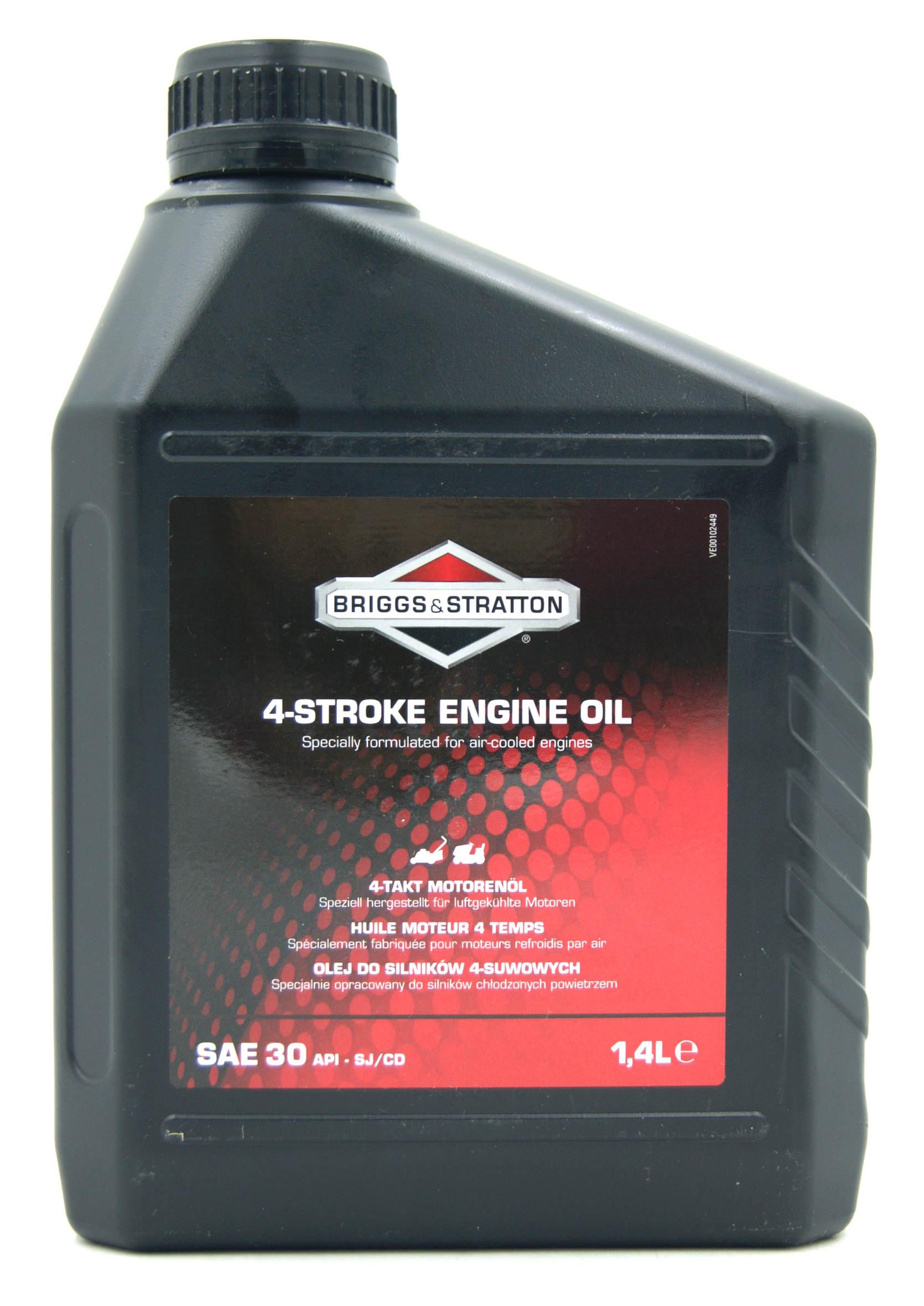 Briggs&Stratton 4-Stroke Engine Oil SAE 30 1,4L Olej do Kosiarki Spalinowej 4T