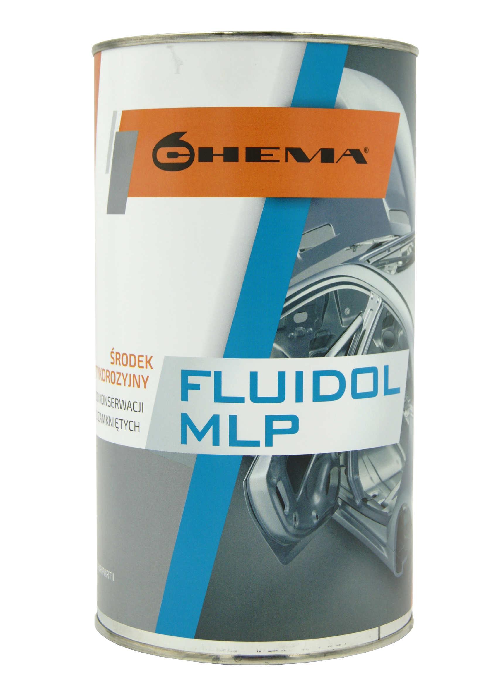 Fluidol MLP 1.5L Środek do Ochrony Profili Zamkniętych