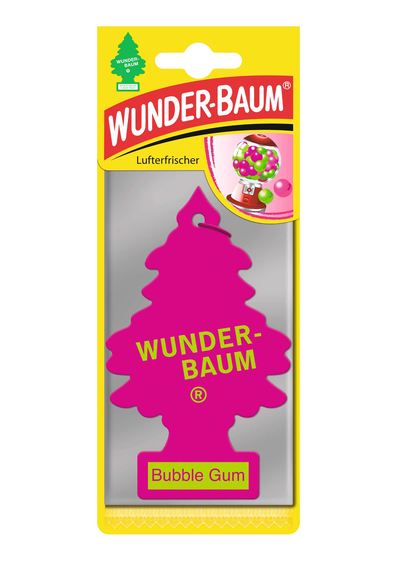 Wunder Baum Zapachowa Choinka Samochodowa Bubble Gum