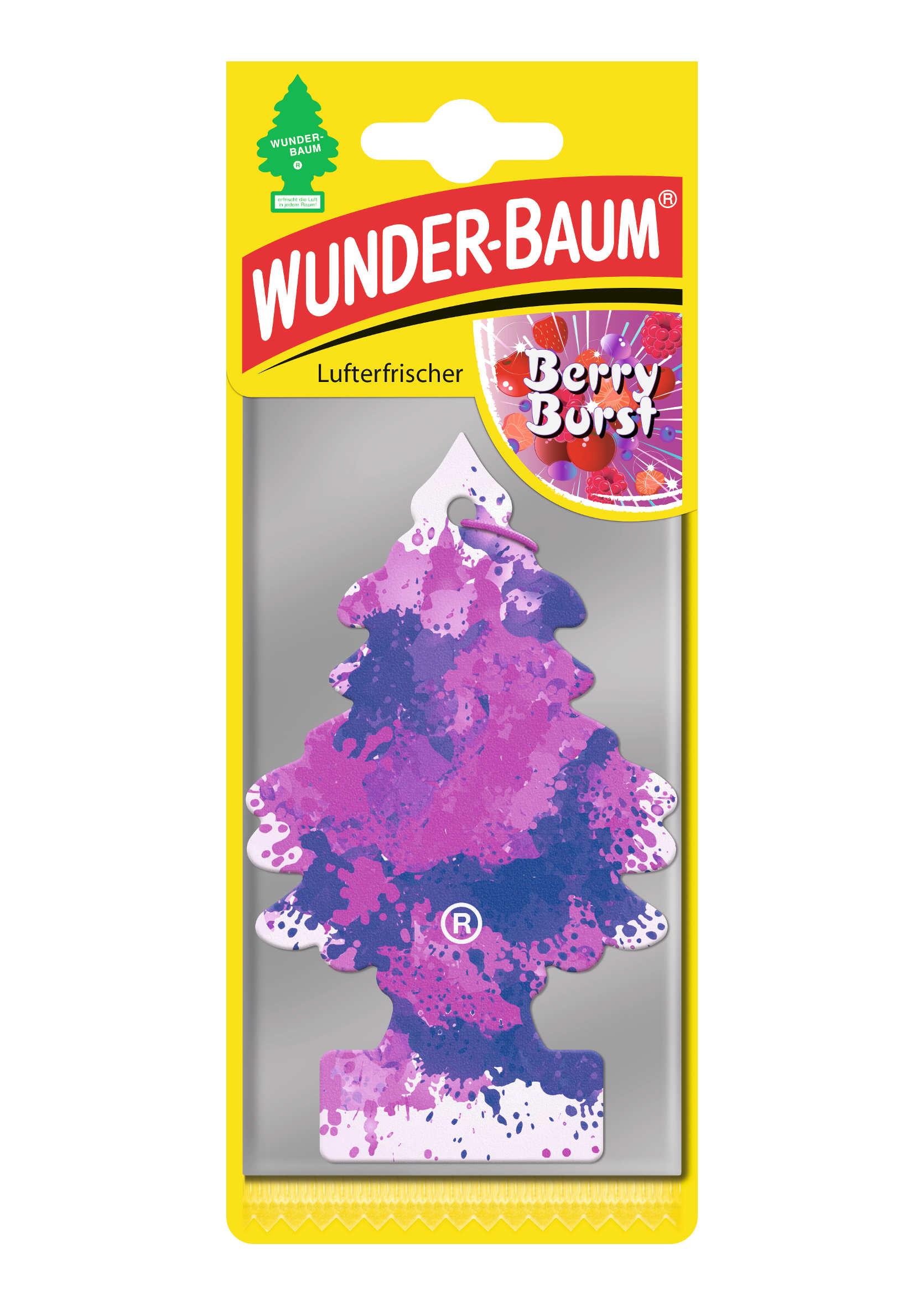 Odświeżacz Powietrza Choinka Wunder Baum Berry Burst