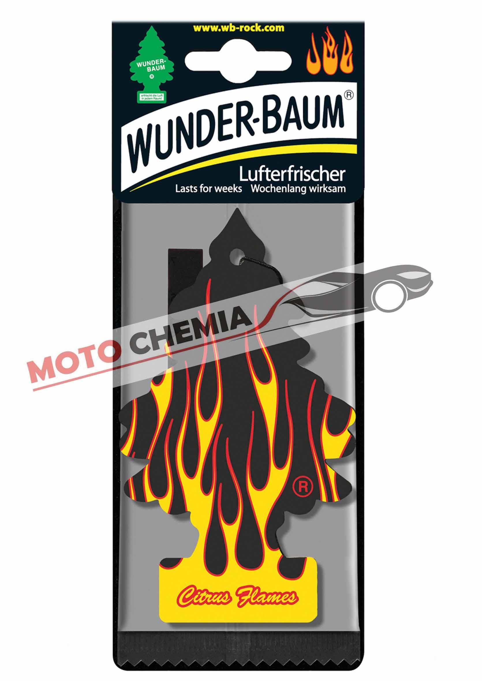 Samochodowa Choinka zapachowa Wunder Citrus Flames