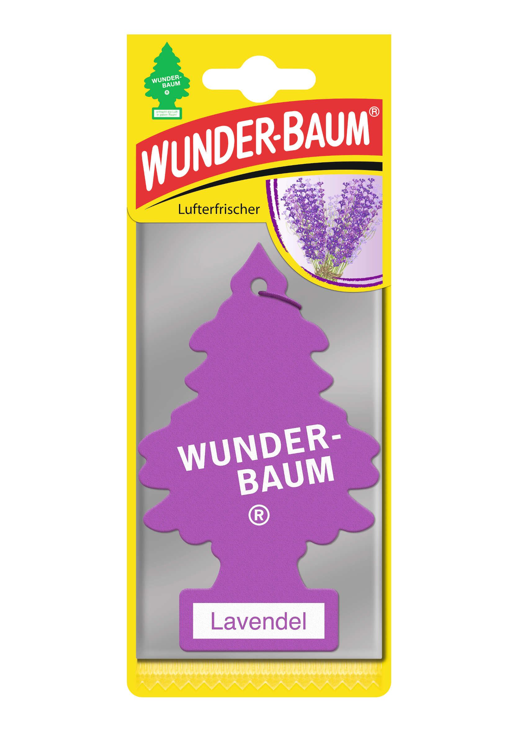 Zapachowa Choinka do auta Wunder Baum Lawenda
