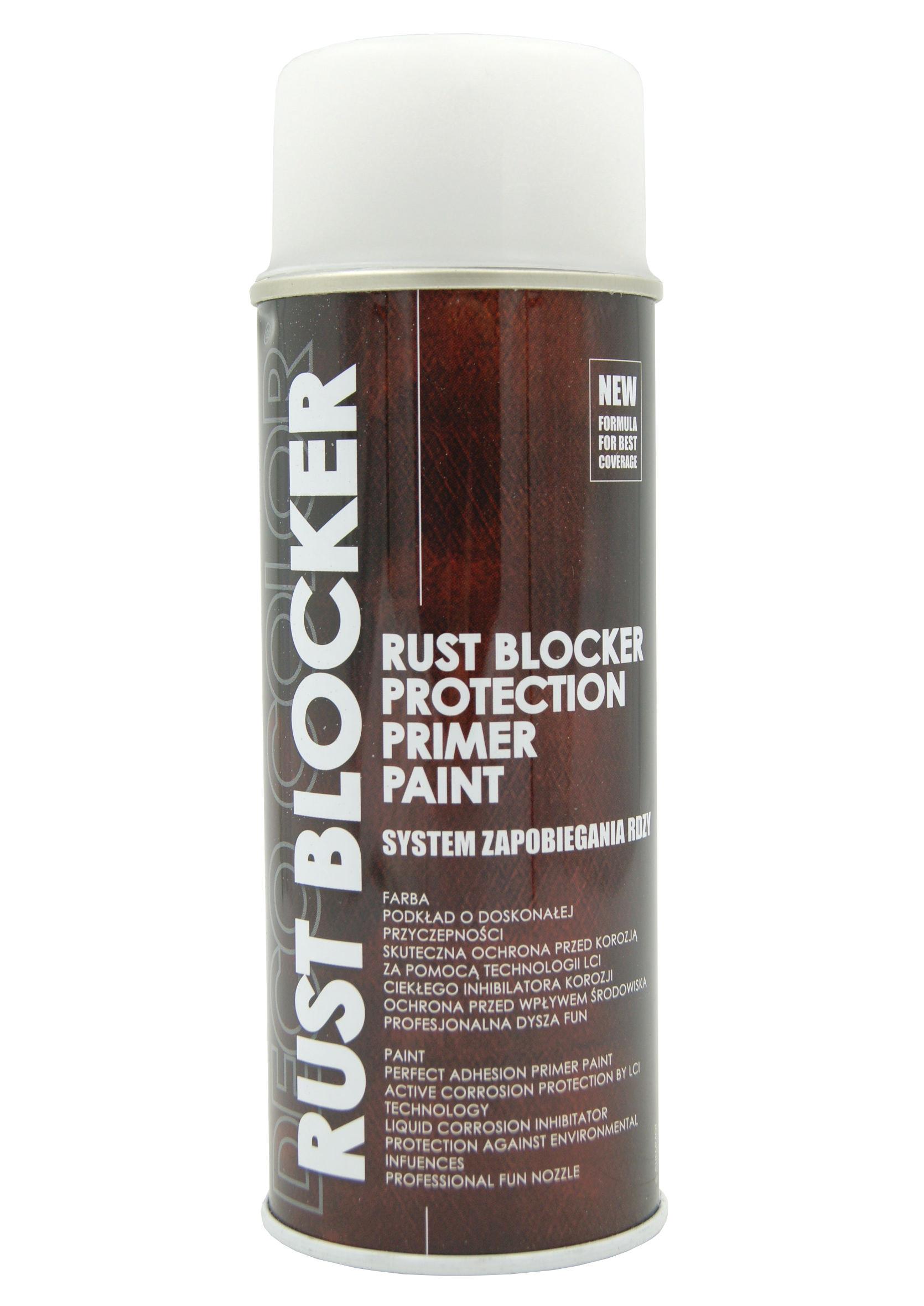 Deco Color Rust Blocker Biały 9010 400ml Farba Podkładowa Antykorozyjna