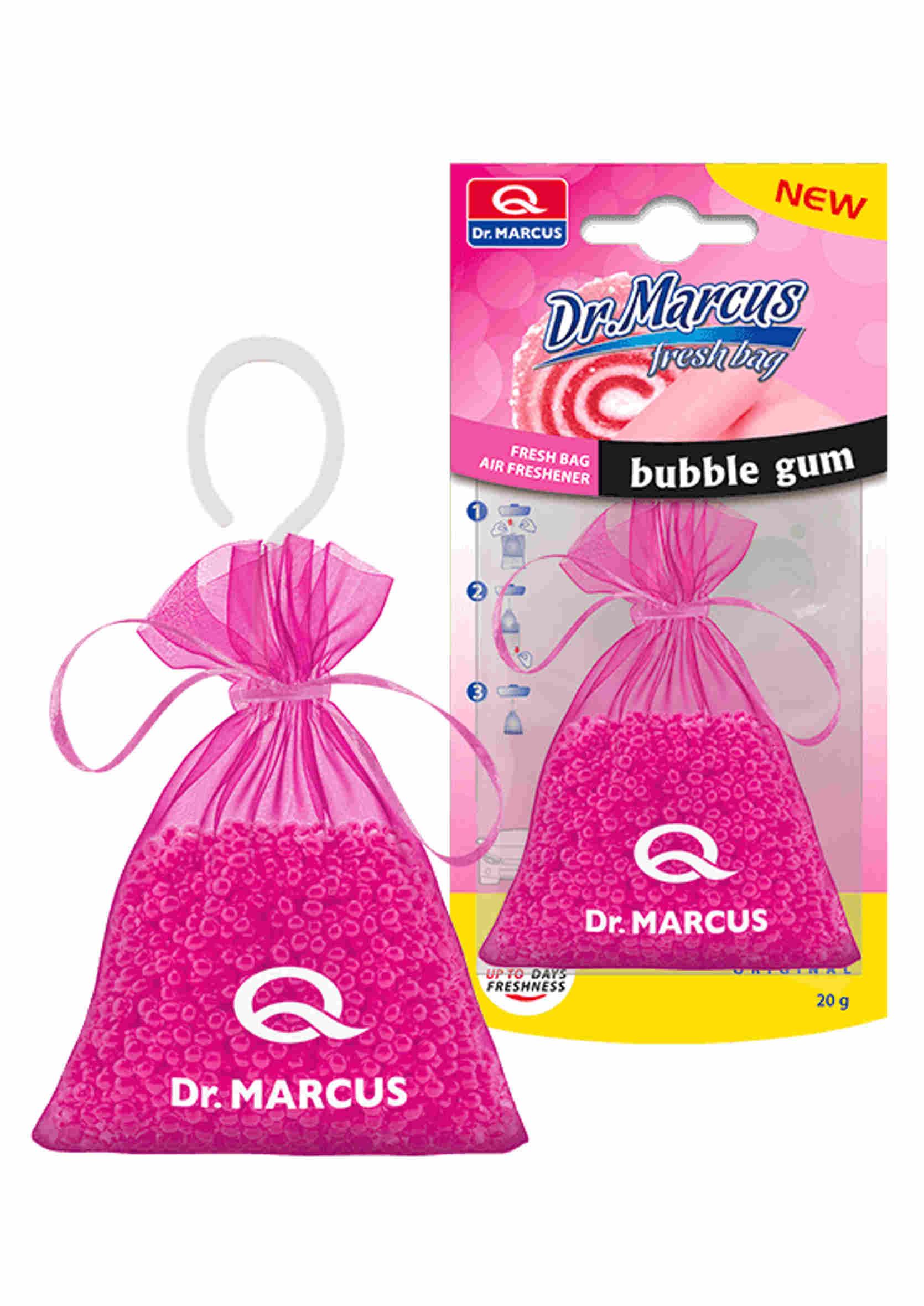 Dr. Marcus Fresh Bag  Zapach samochodowy Bubble Gum 20g