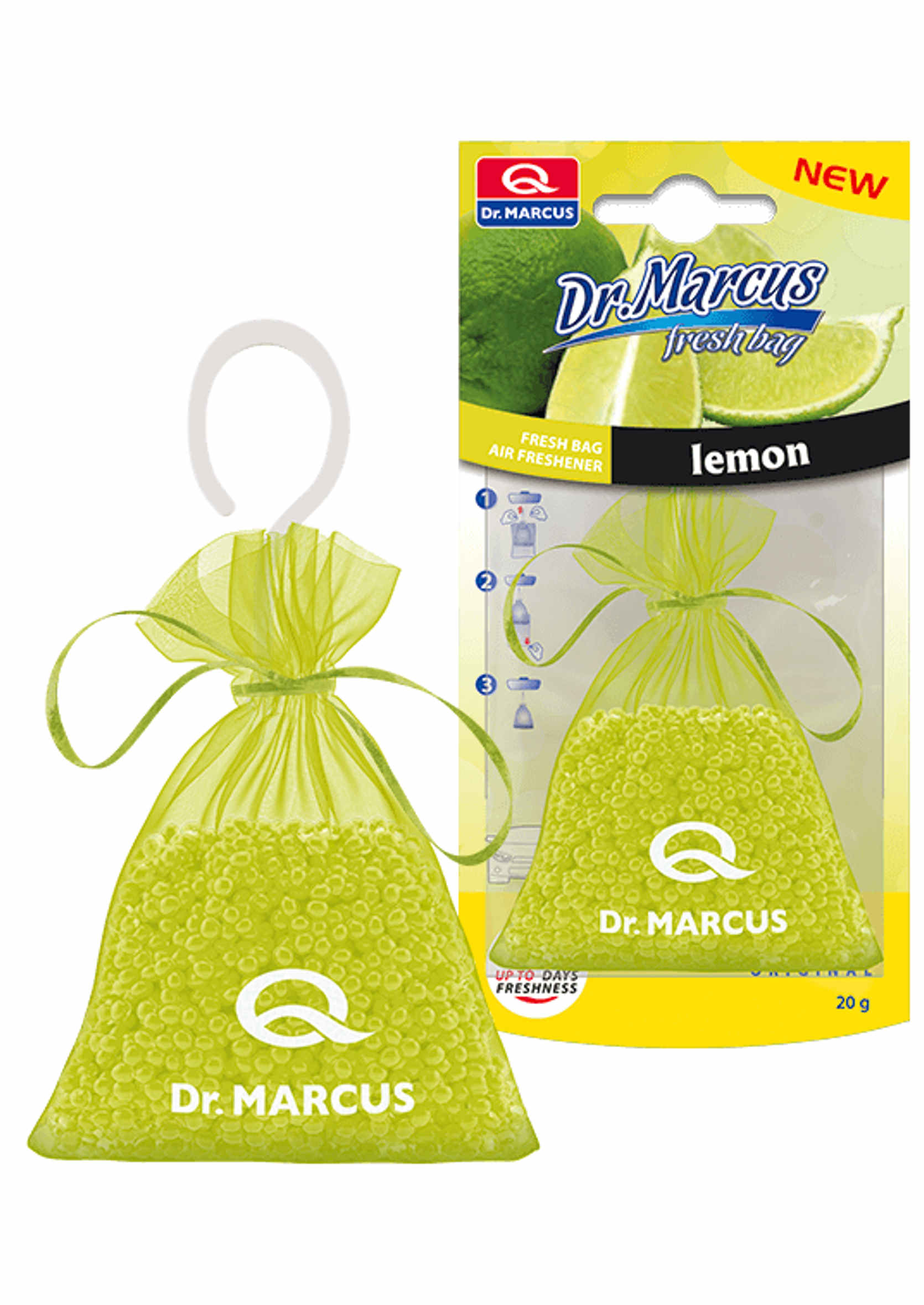 Dr. Marcus Fresh Bag Lemon 20g Woreczek Zapachowy Cytryna