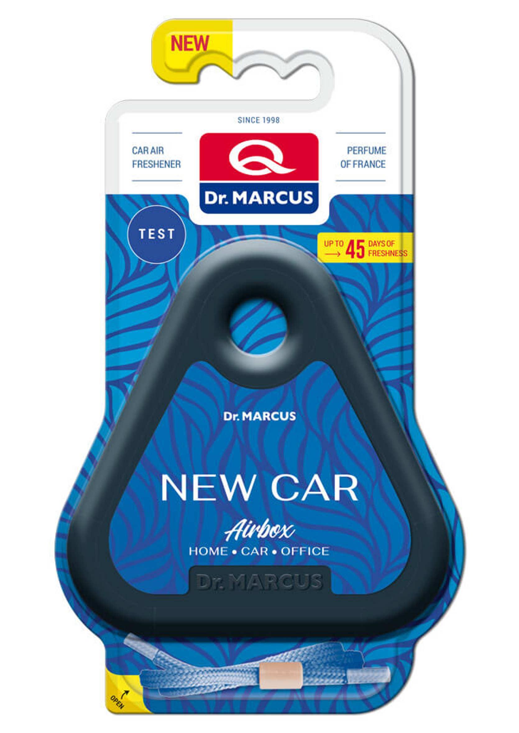 Dr Marcus Airbox New Car Odświeżacz zapach samochodowy pod siedzenie