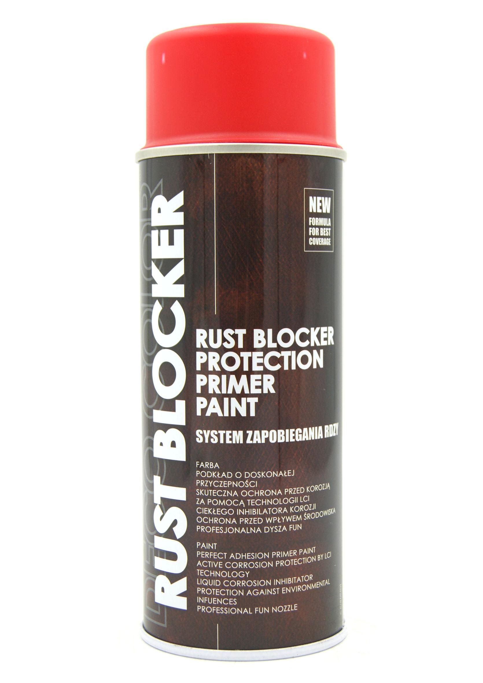 Deco Color Rust Blocker Czerwony 3000 400ml Farba Podkładowa Antykorozyjna