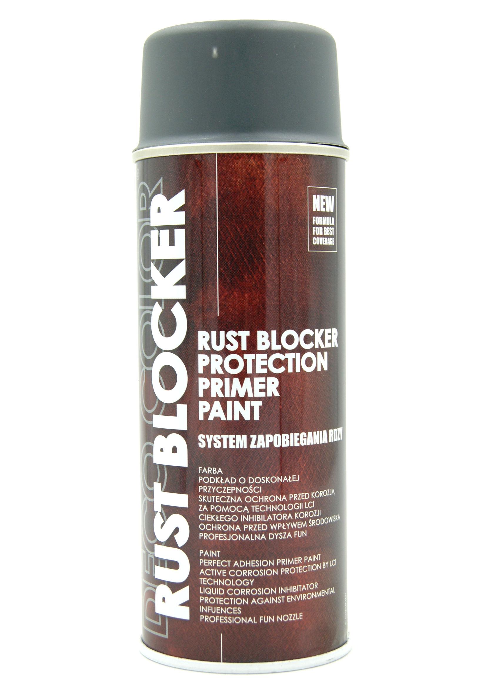 Deco Color Rust Blocker Szary 7011 400ml Farba Podkładowa Antykorozyjna