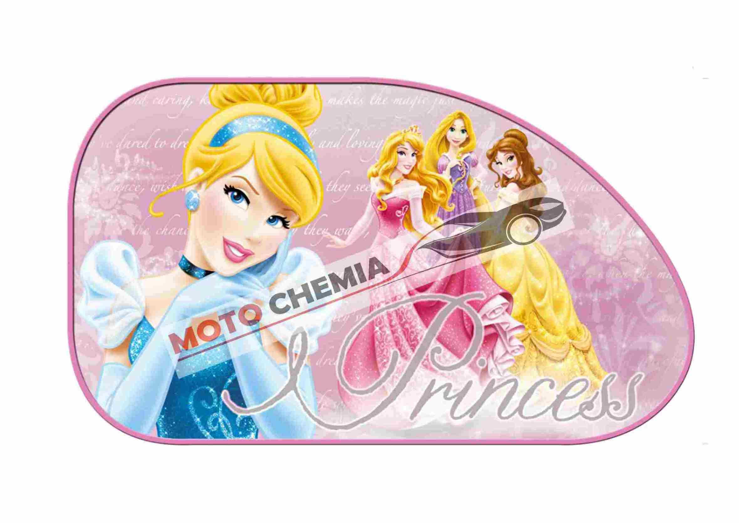 Disney Princess Księżniczki Zasłonki Przeciwsłoneczne na Przyssawkę Duże 2szt.