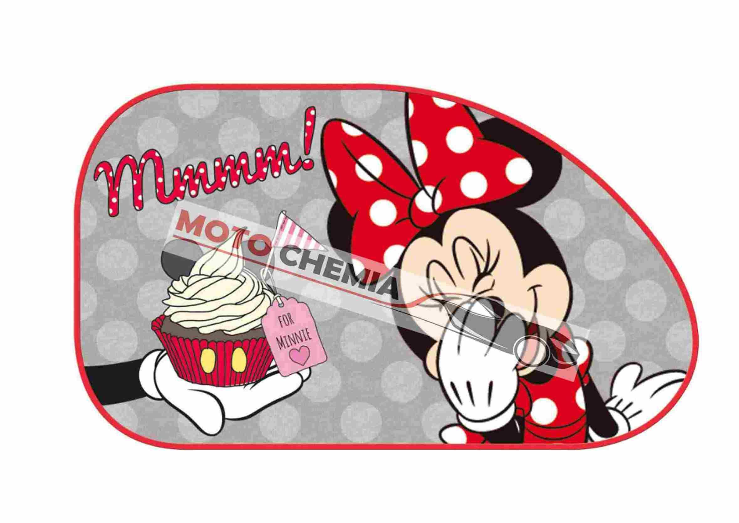 Disney Myszka Minnie Zasłonki Przeciwsłoneczne na Przyssawkę Duże 2szt.