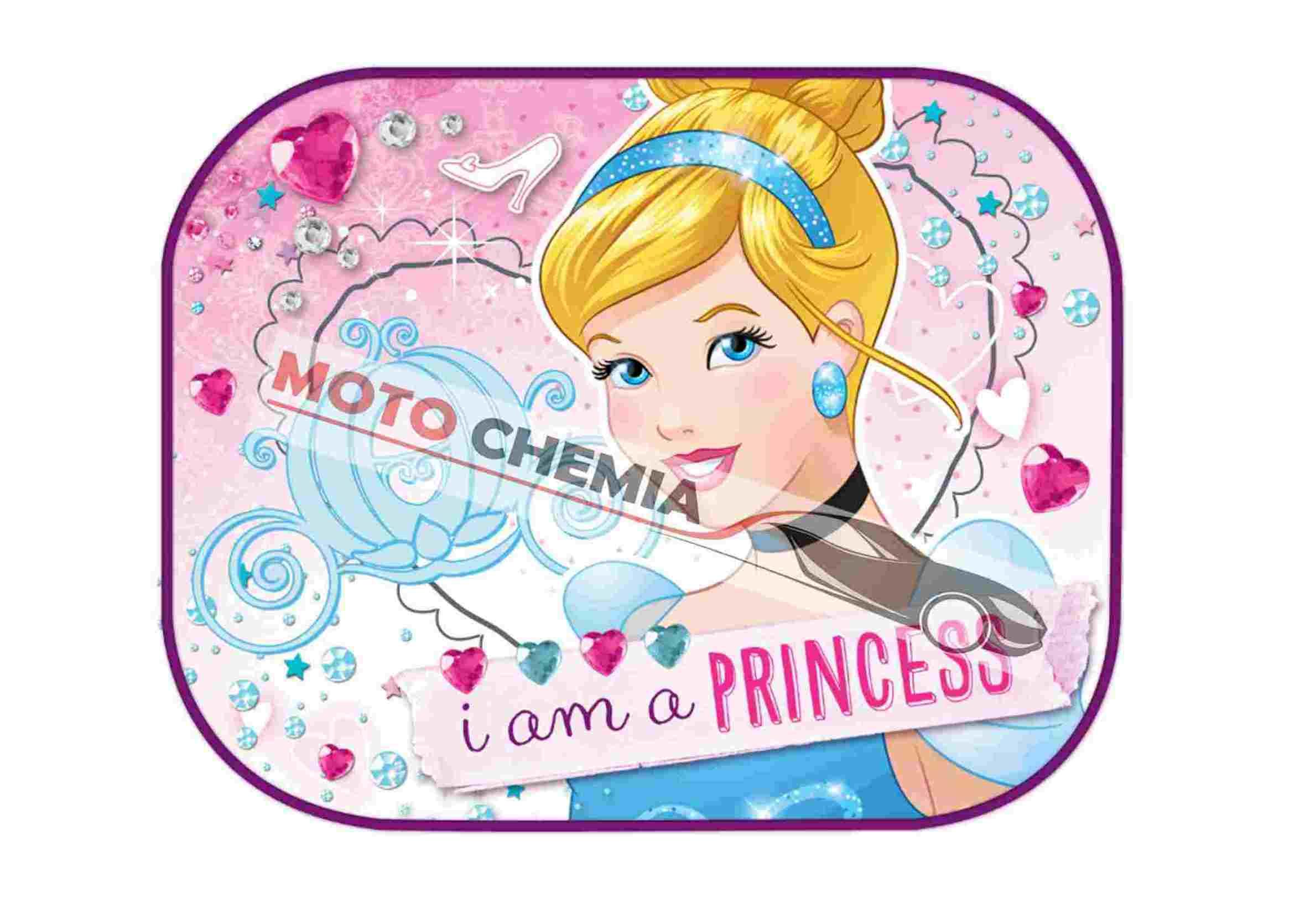 Disney Princess Kopciuszek Zasłonki Przeciwsłoneczne na Przyssawkę 2szt.