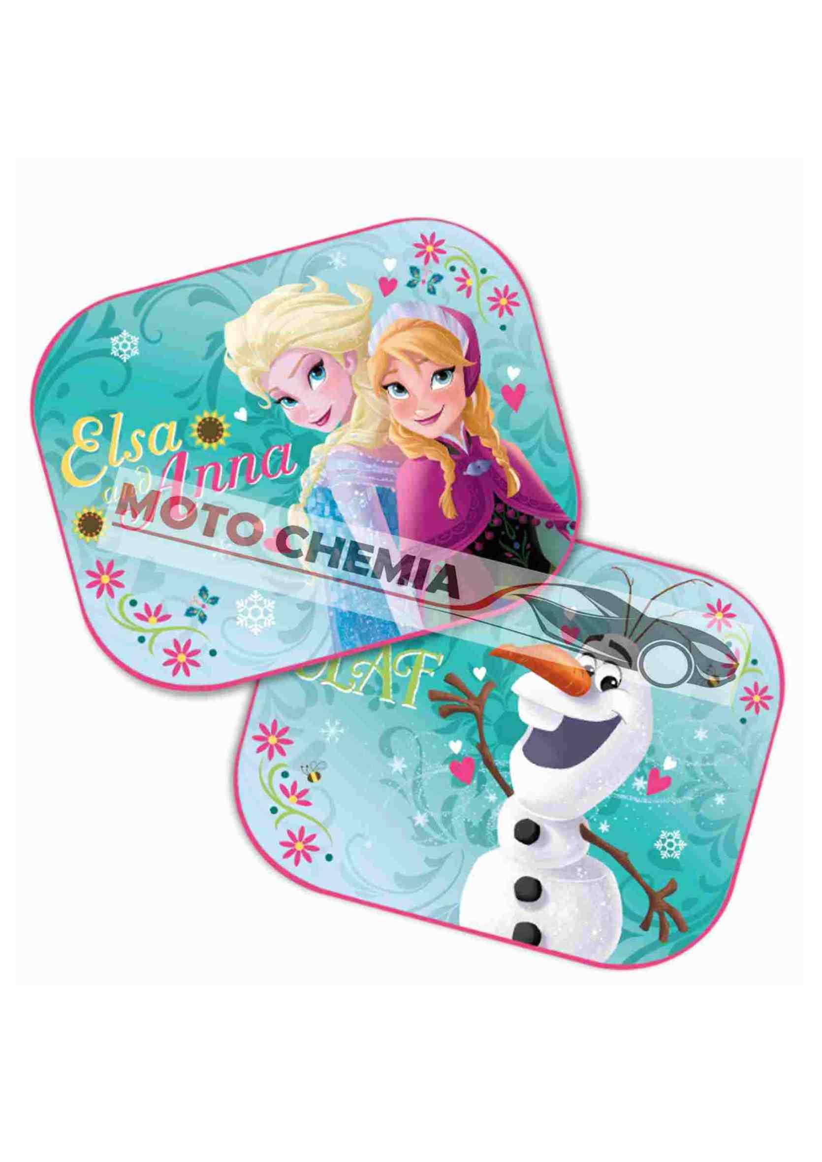 Disney Frozen Kraina Lodu Zasłonki Przeciwsłoneczne na Przyssawkę 2szt.