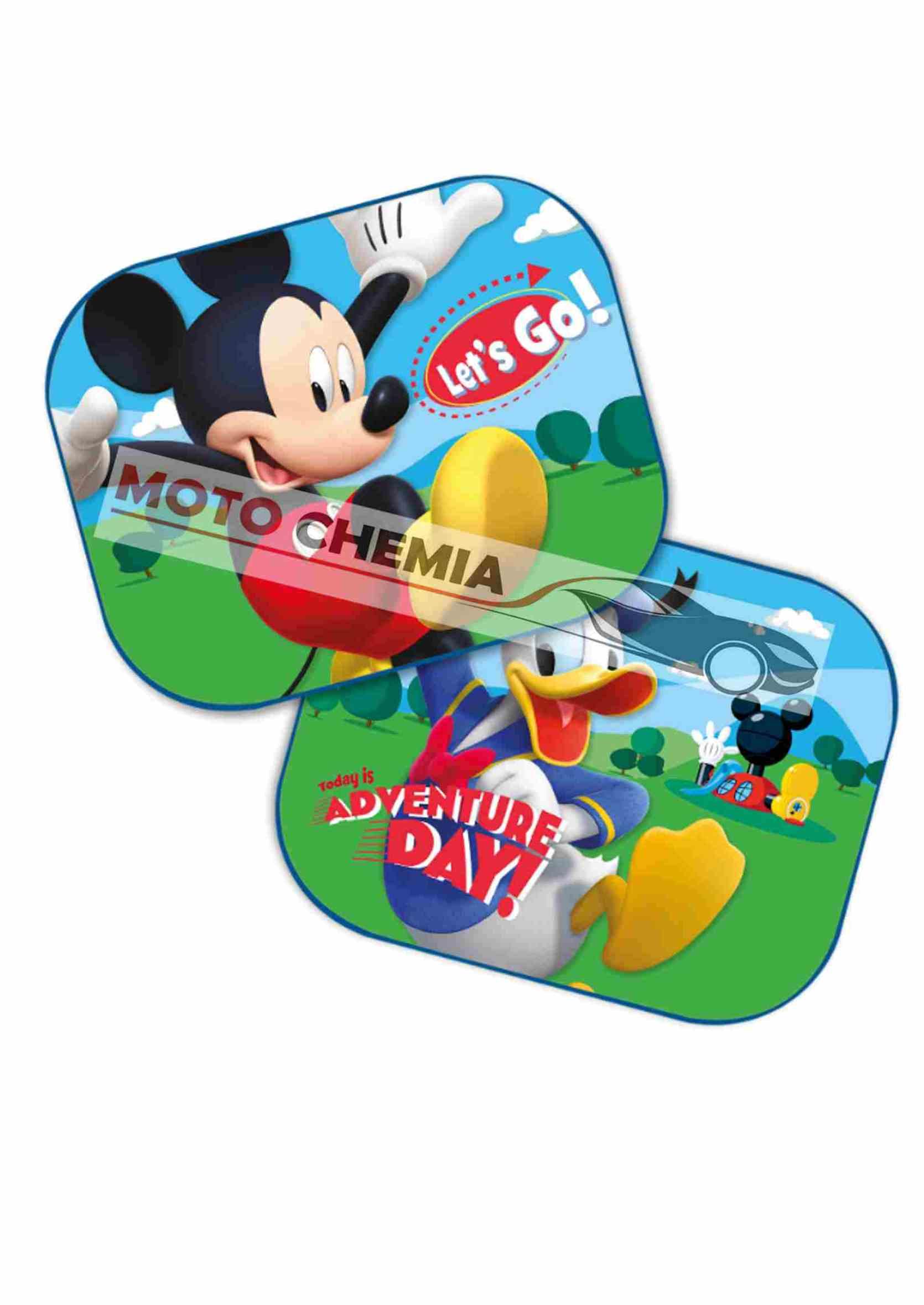 Disney Myszka Miki Kaczor Donald Zasłonki Przeciwsłoneczne na Przyssawkę 2szt.