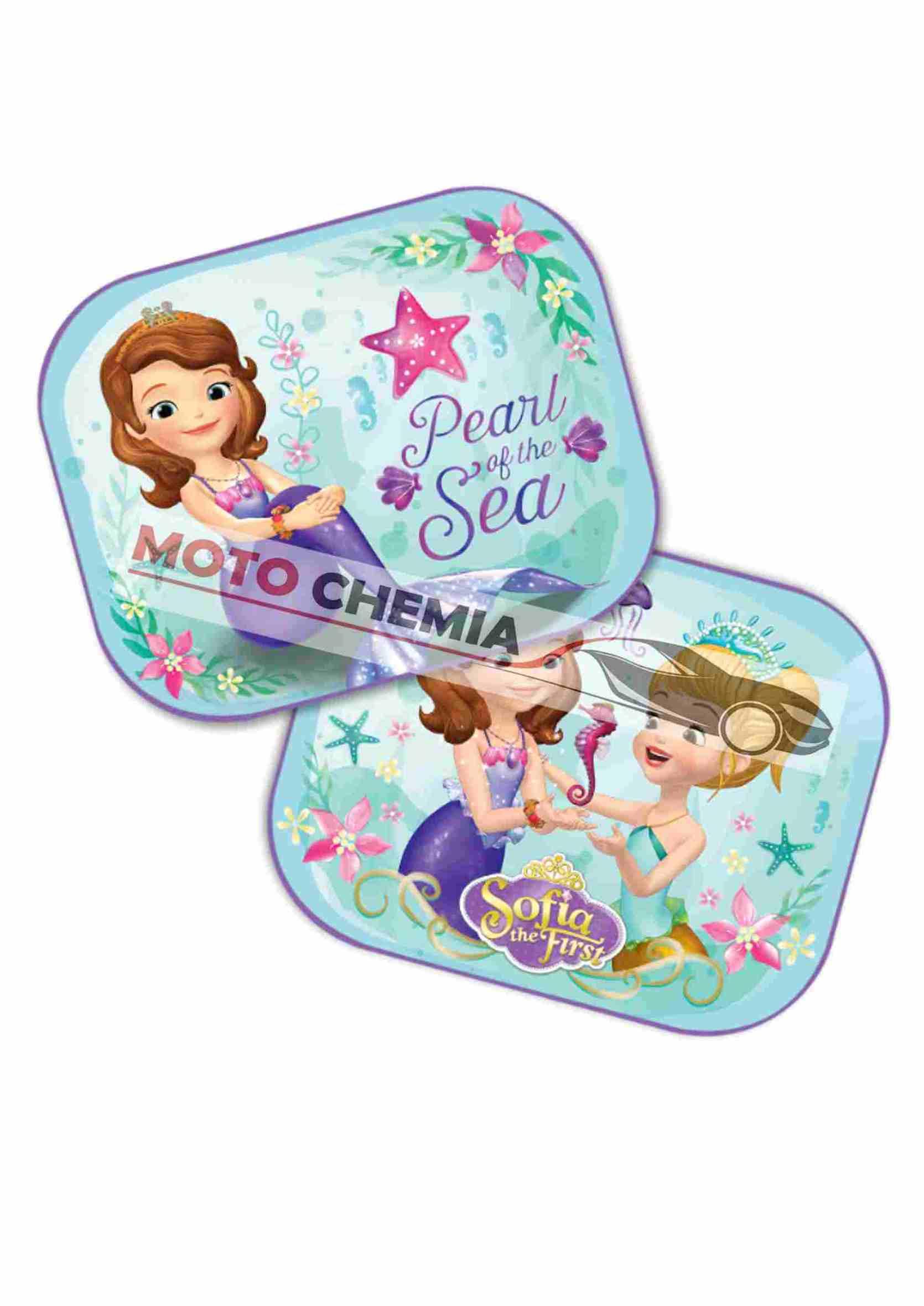 Disney Jej Wysokość Zosia Zasłonki Przeciwsłoneczne na Przyssawkę 2szt