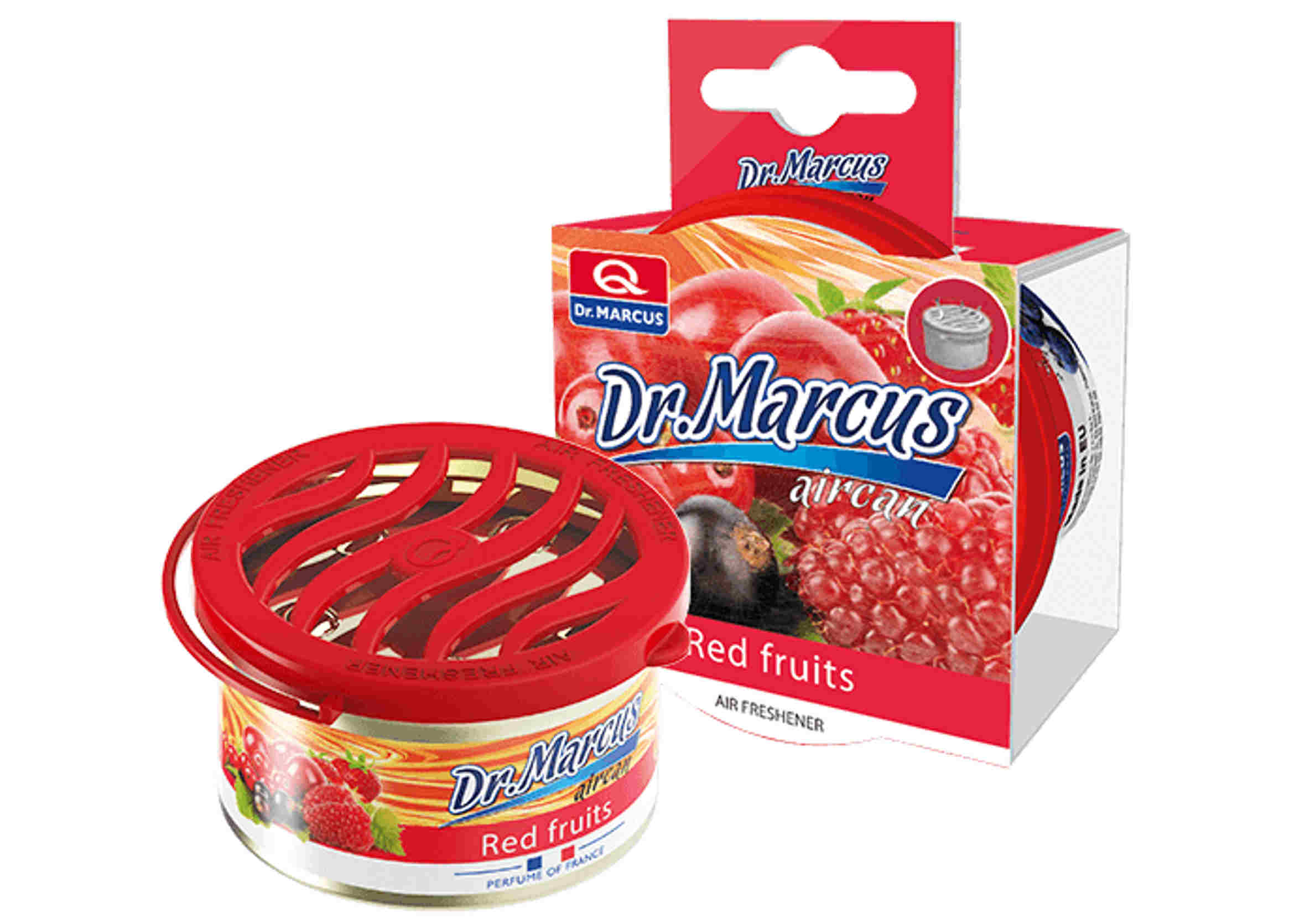 Dr Marcus Aircan Red Fruits 40g Zapach Samochodowy w Puszce