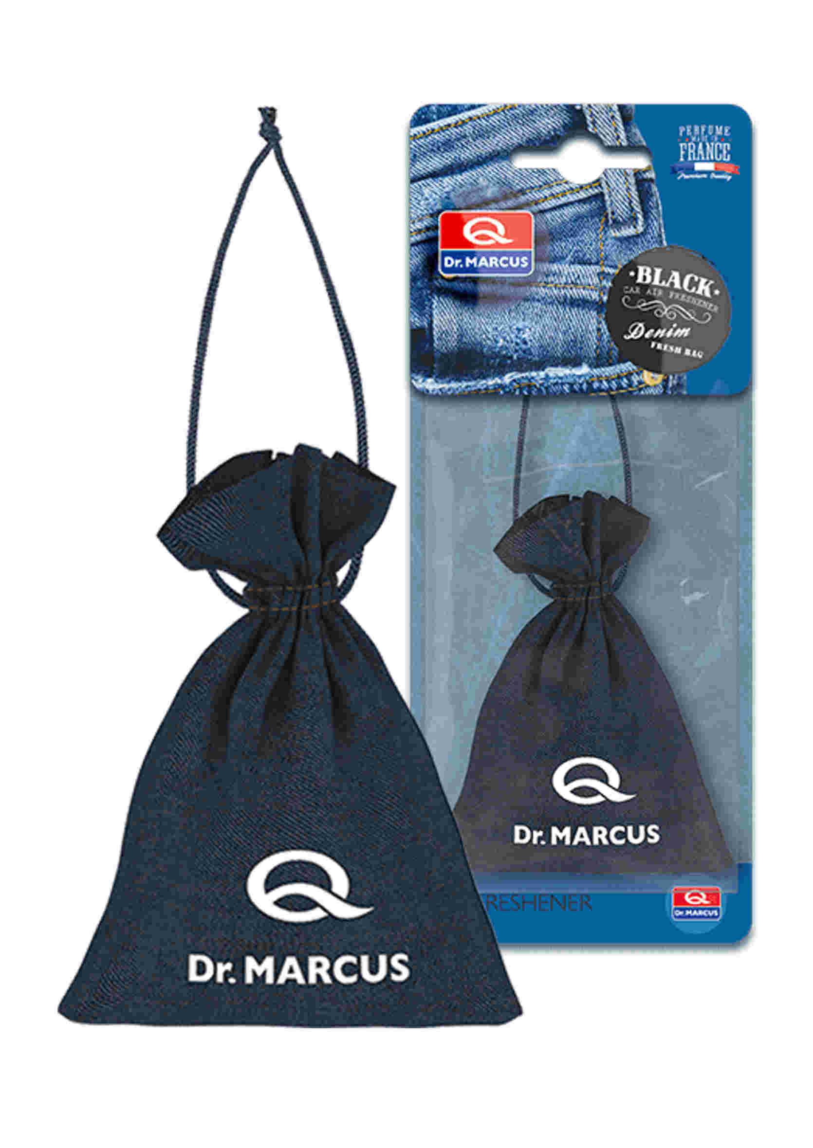 Dr. Marcus Fresh Bag Denim Black 20g Woreczek Zapachowy Perfumowany