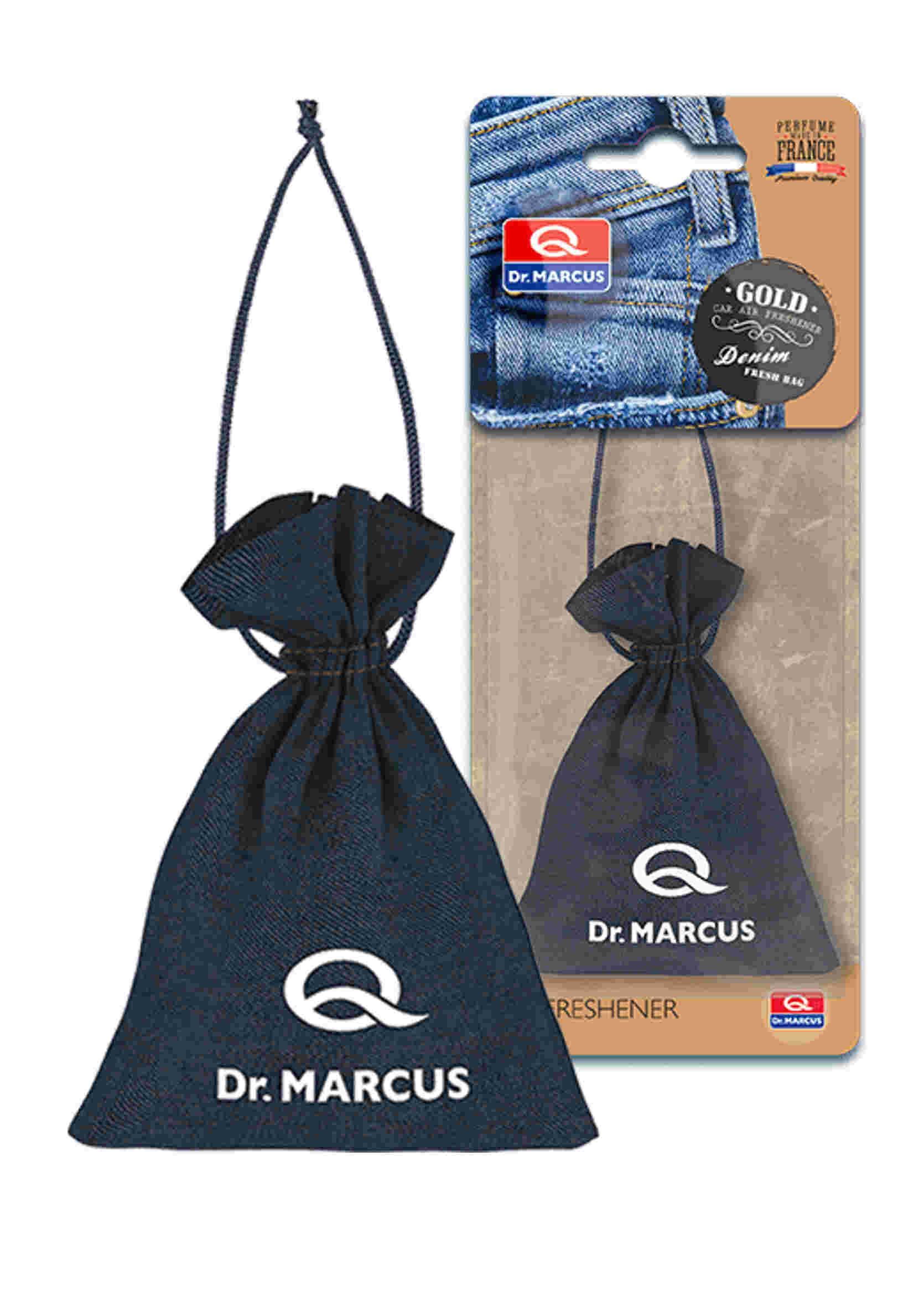 Dr. Marcus Fresh Bag Denim Zapach Samochodowy Gold 20g