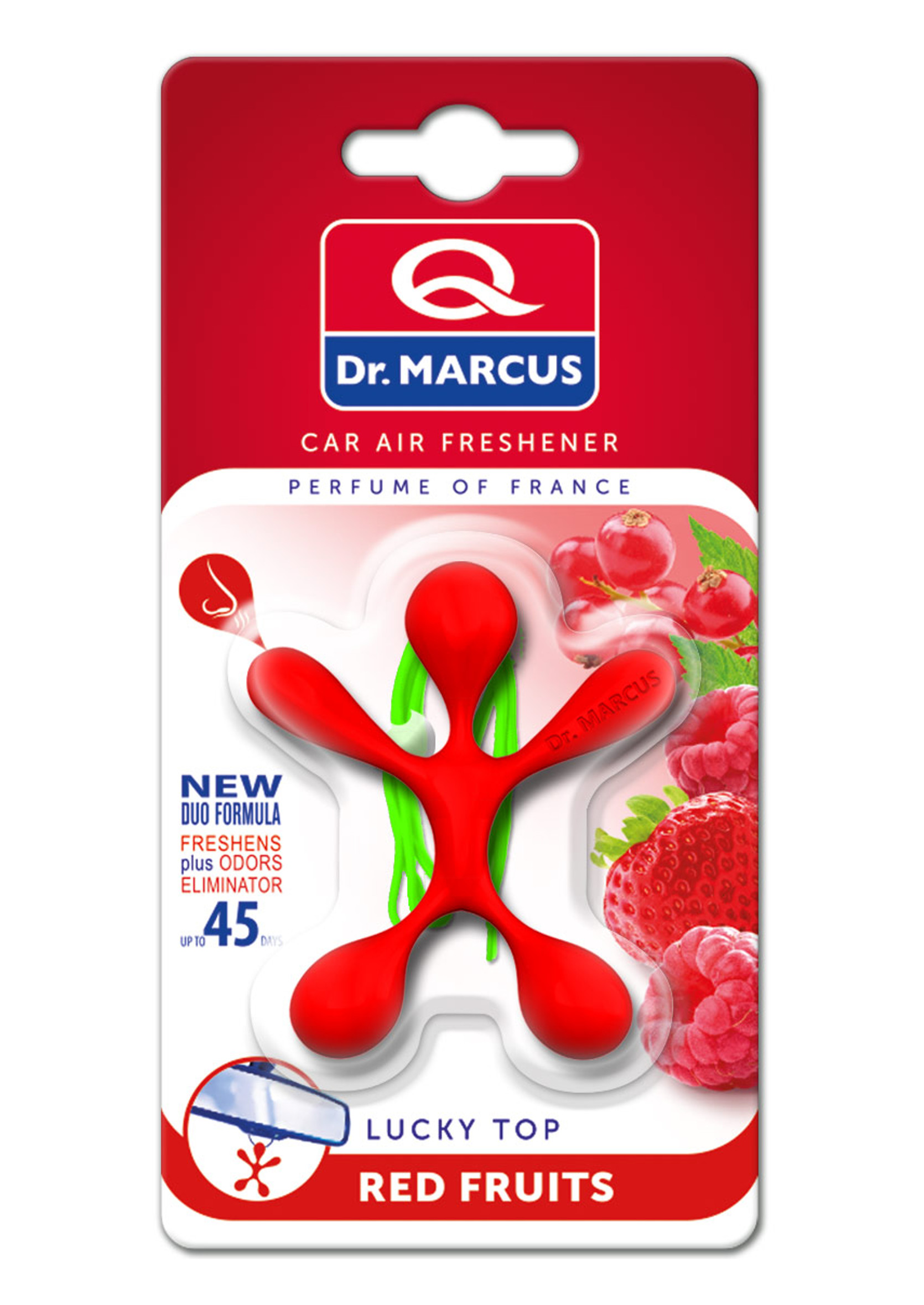 Dr Marcus Lucky Top Red Fruits Zapach Samochodowy