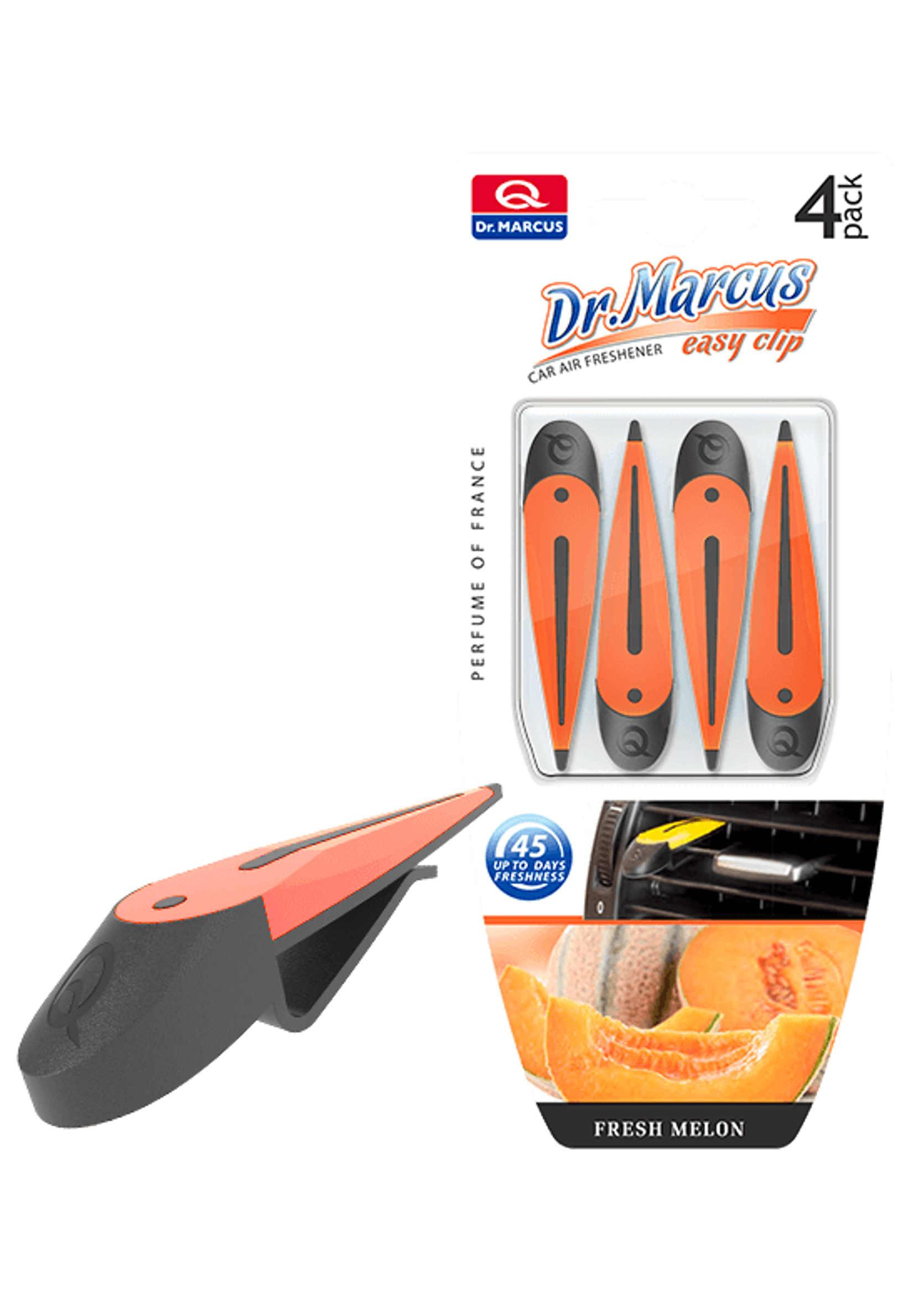 Dr. Marcus Easy Clip Fresh Melon 4szt. Zapach Samochodowy Melonowy