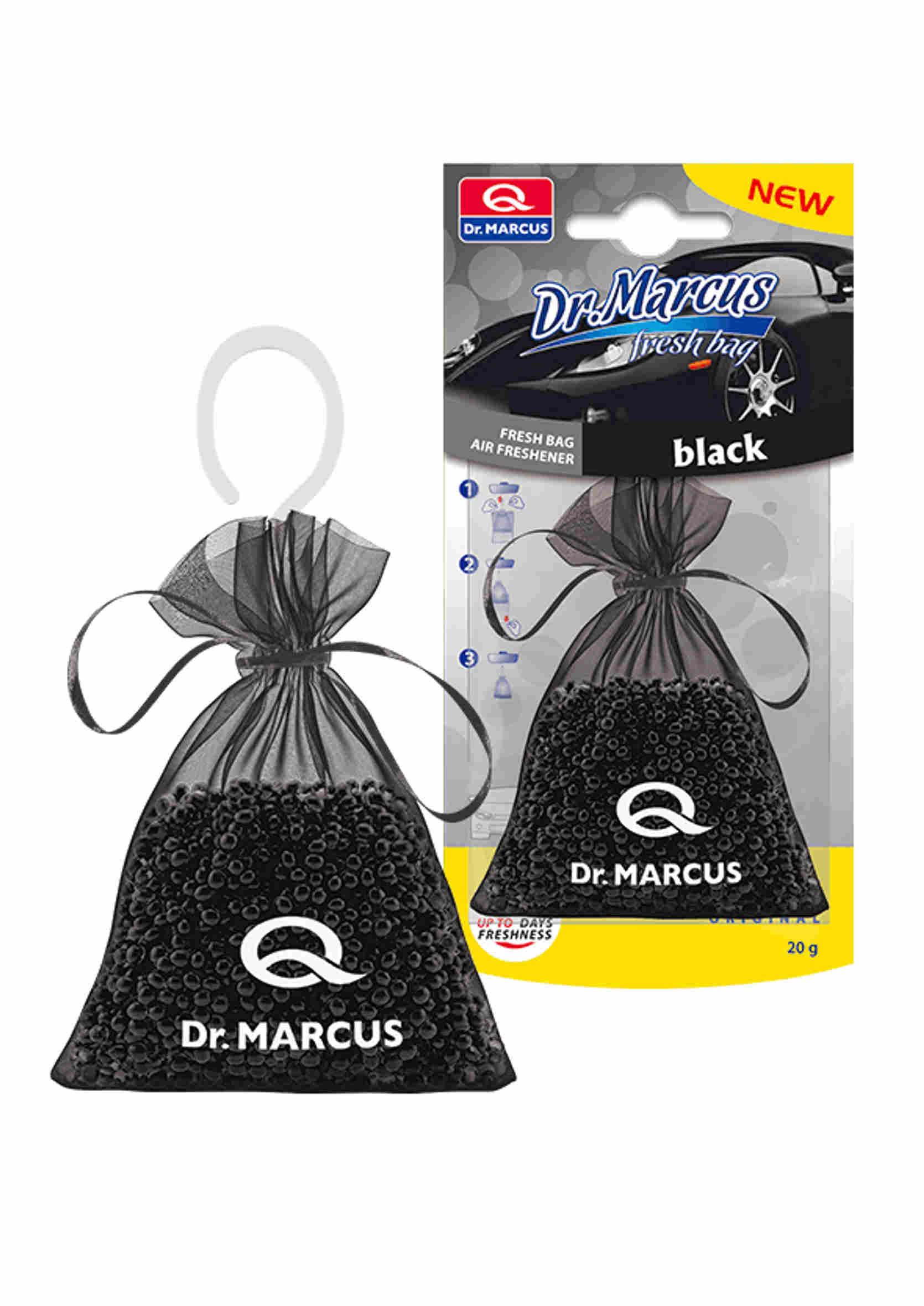 Dr. Marcus Fresh Bag Zapach Samochodowy Black 20g