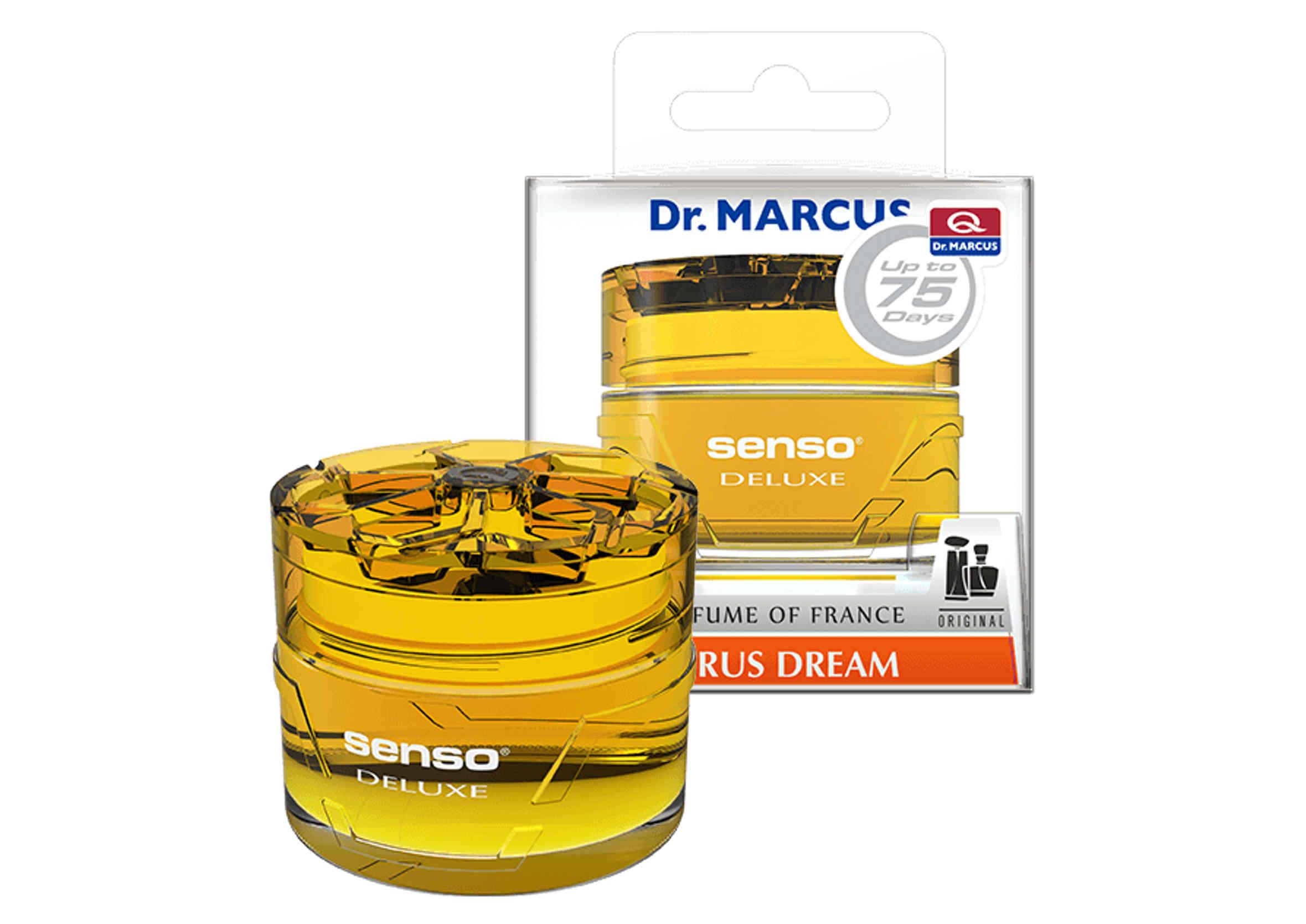 Dr. Marcus Senso Deluxe Gel Citrus Dream 50ml Odświeżacz Powietrza w Żelu