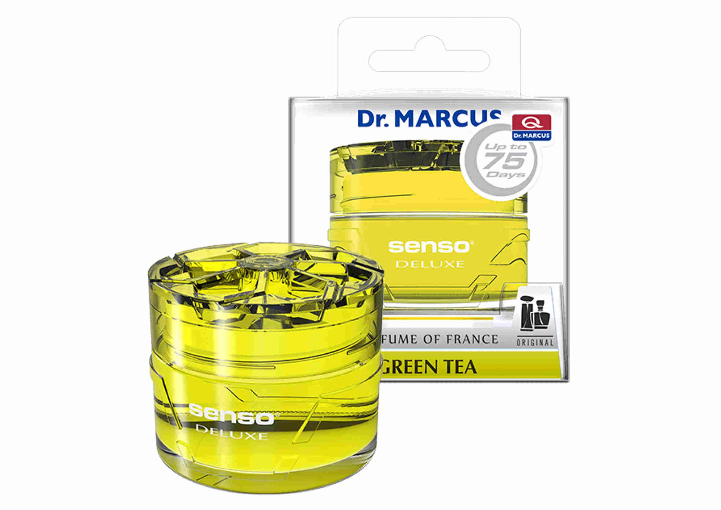 Dr. Marcus Senso Deluxe Gel Green Tea 50ml Odświeżacz Powietrza w Żelu