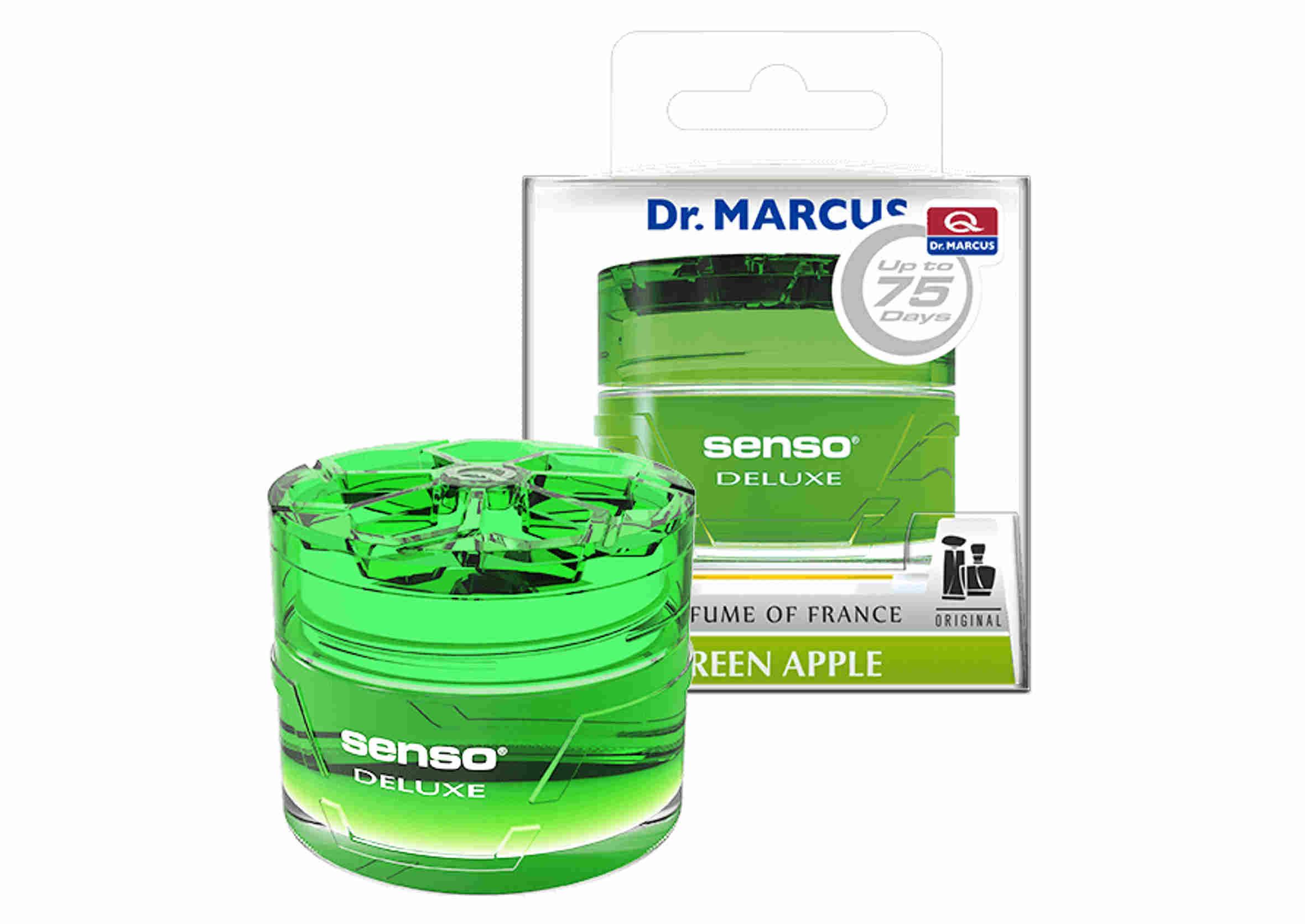 Dr. Marcus Senso Deluxe Gel Green Apple 50ml Odświeżacz Powietrza w Żelu