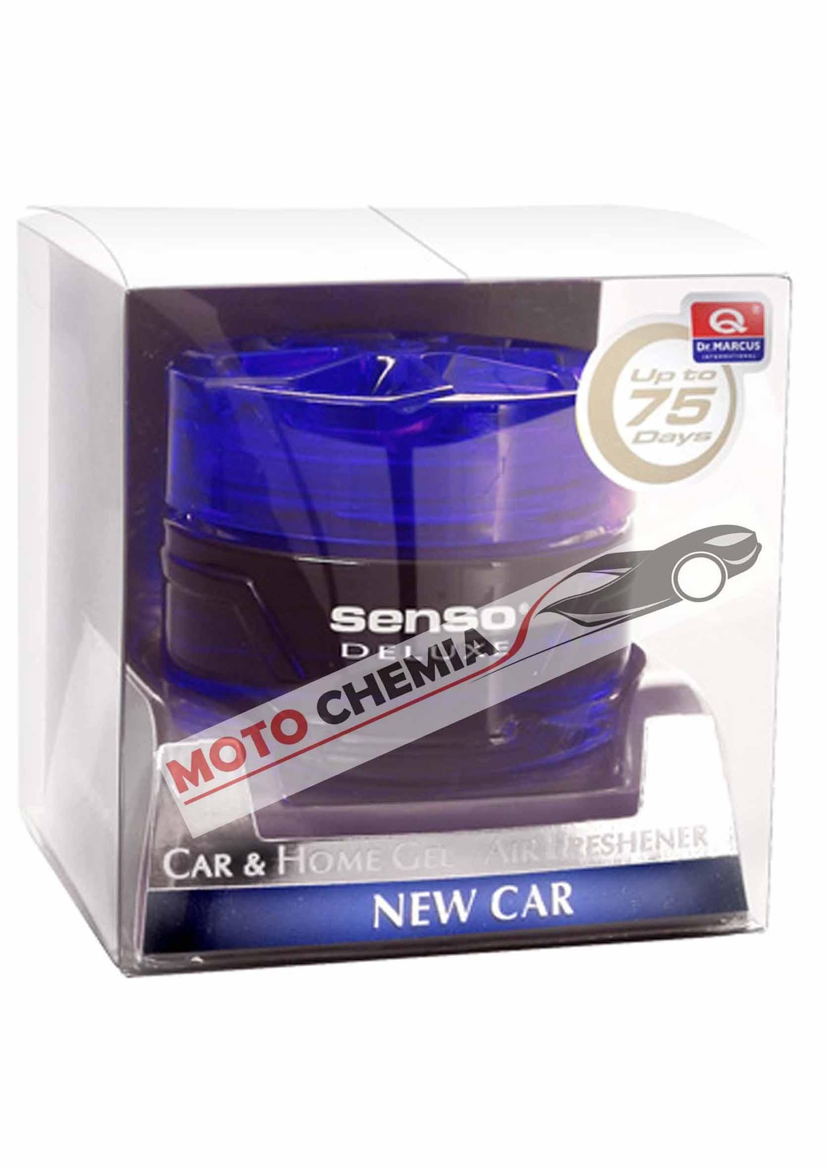Dr. Marcus Senso Deluxe Gel New Car 50ml Odświeżacz Powietrza w Żelu