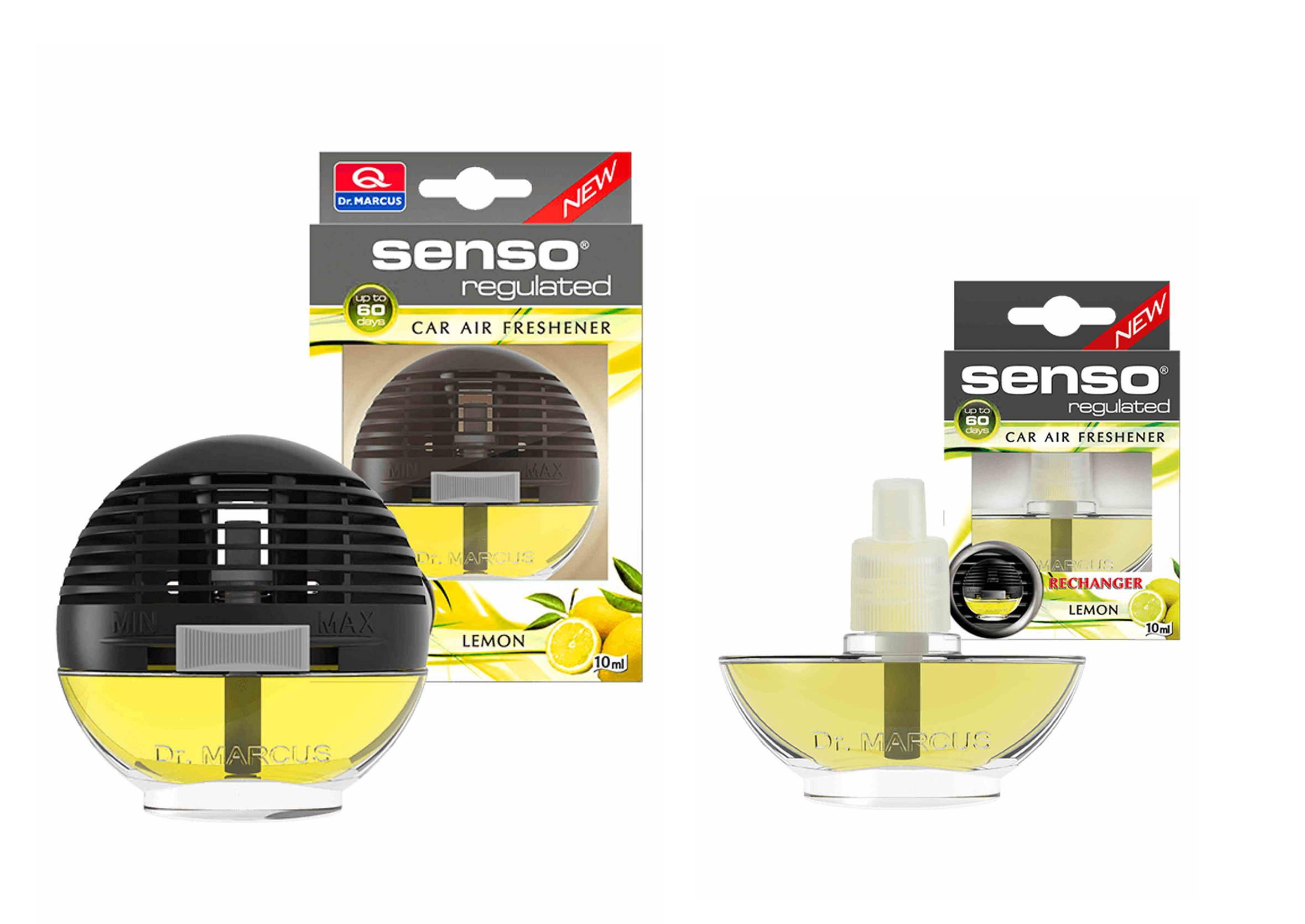 Dr. Marcus Senso Regulated Lemon 2x10ml Odświeżacz Powietrza z Wkładem Gratis