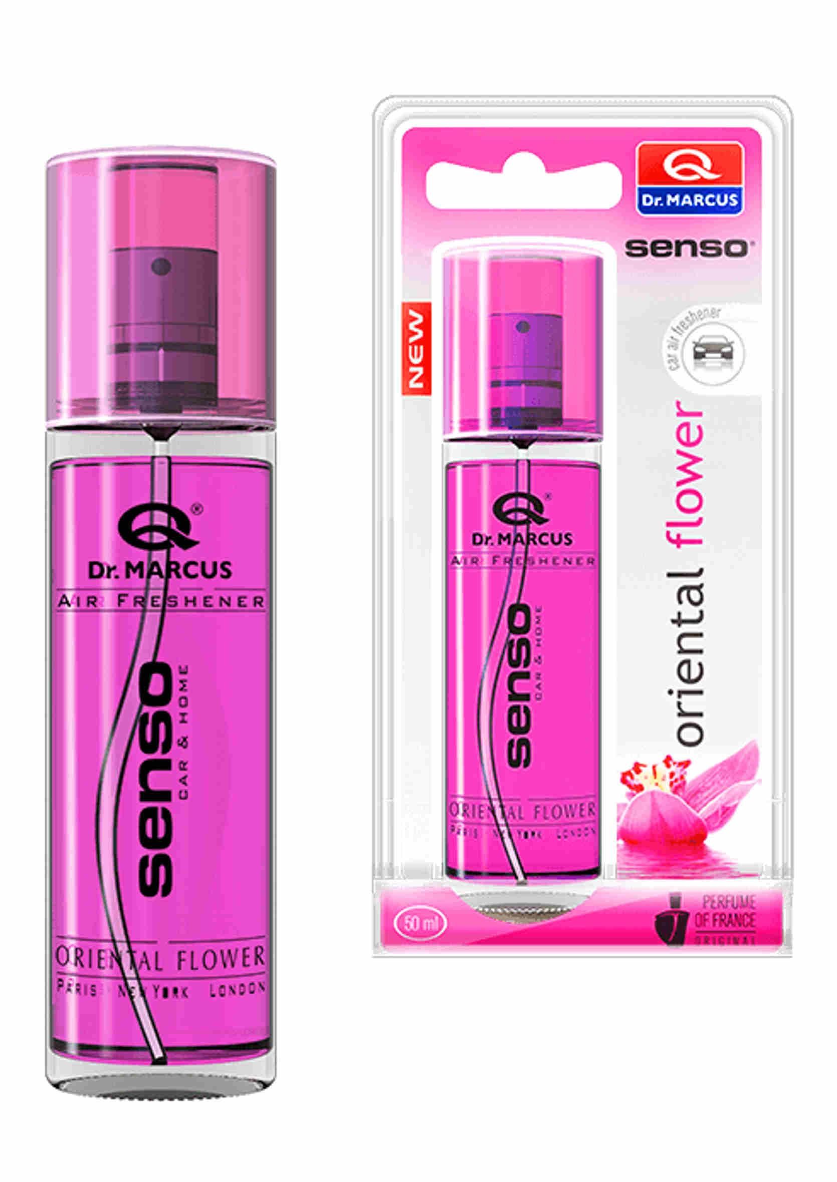 Dr. Marcus Senso Spray Oriental Flower 50ml Zapach Samochodowy w Sprayu
