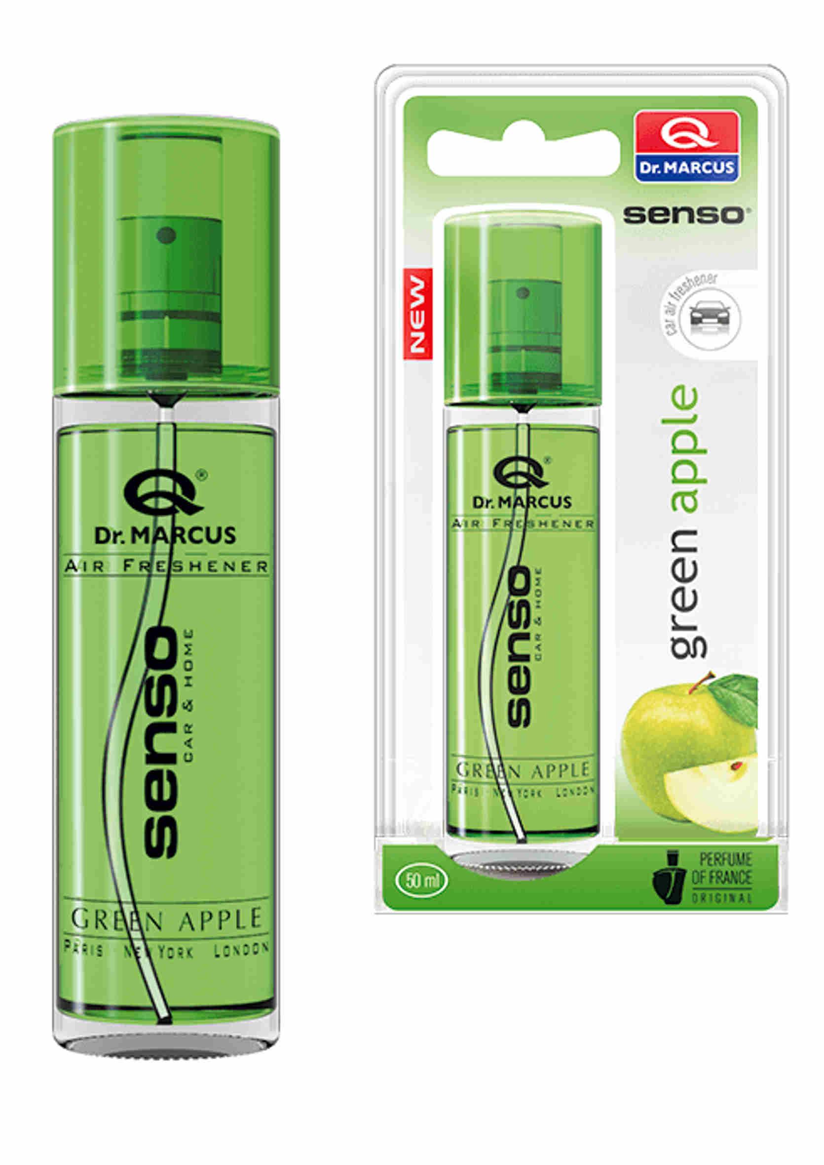 Dr. Marcus Senso Spray Green Apple 50ml Zapach Samochodowy w Sprayu