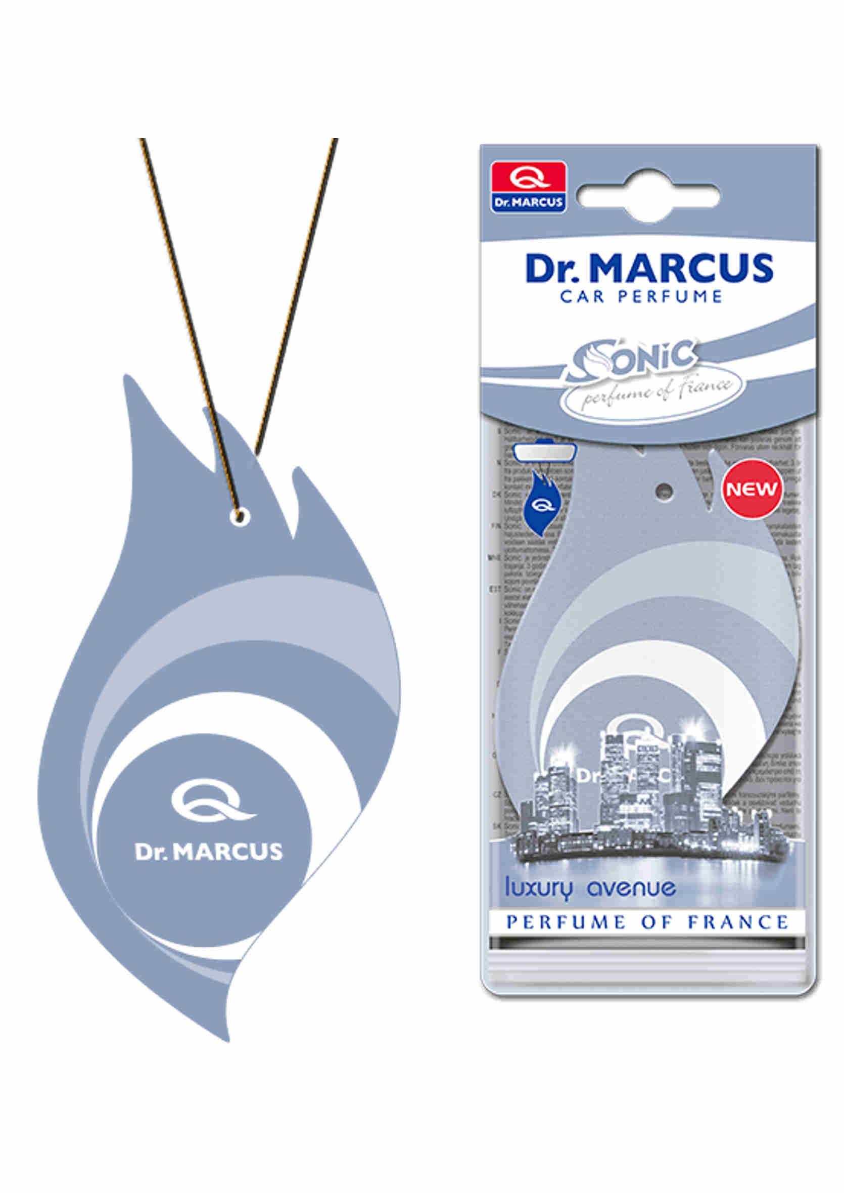 Dr. Marcus Sonic Luxury Avenue Listek Zapachowy Choinka Perfumowana