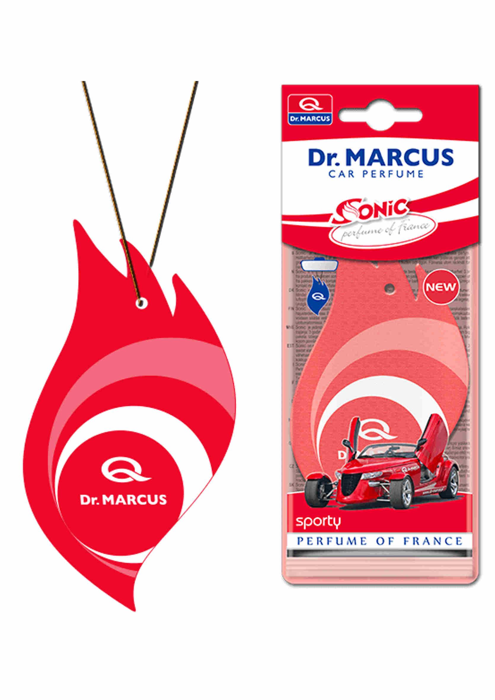 Dr. Marcus Sonic Sporty Listek Zapachowy Choinka Perfumowana