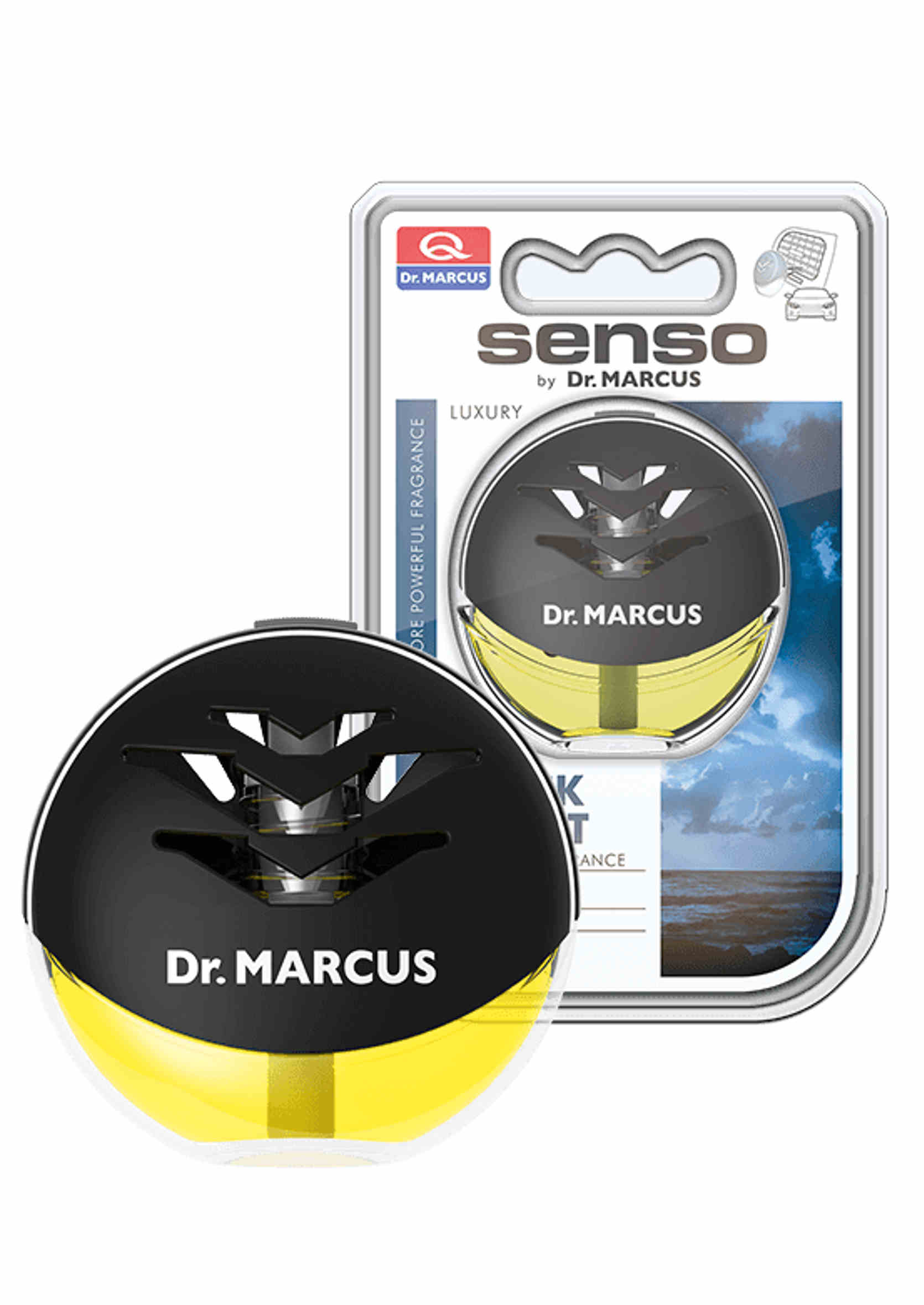 Dr. Marcus Senso Luxury Black Night 10ml Zapach do Auta