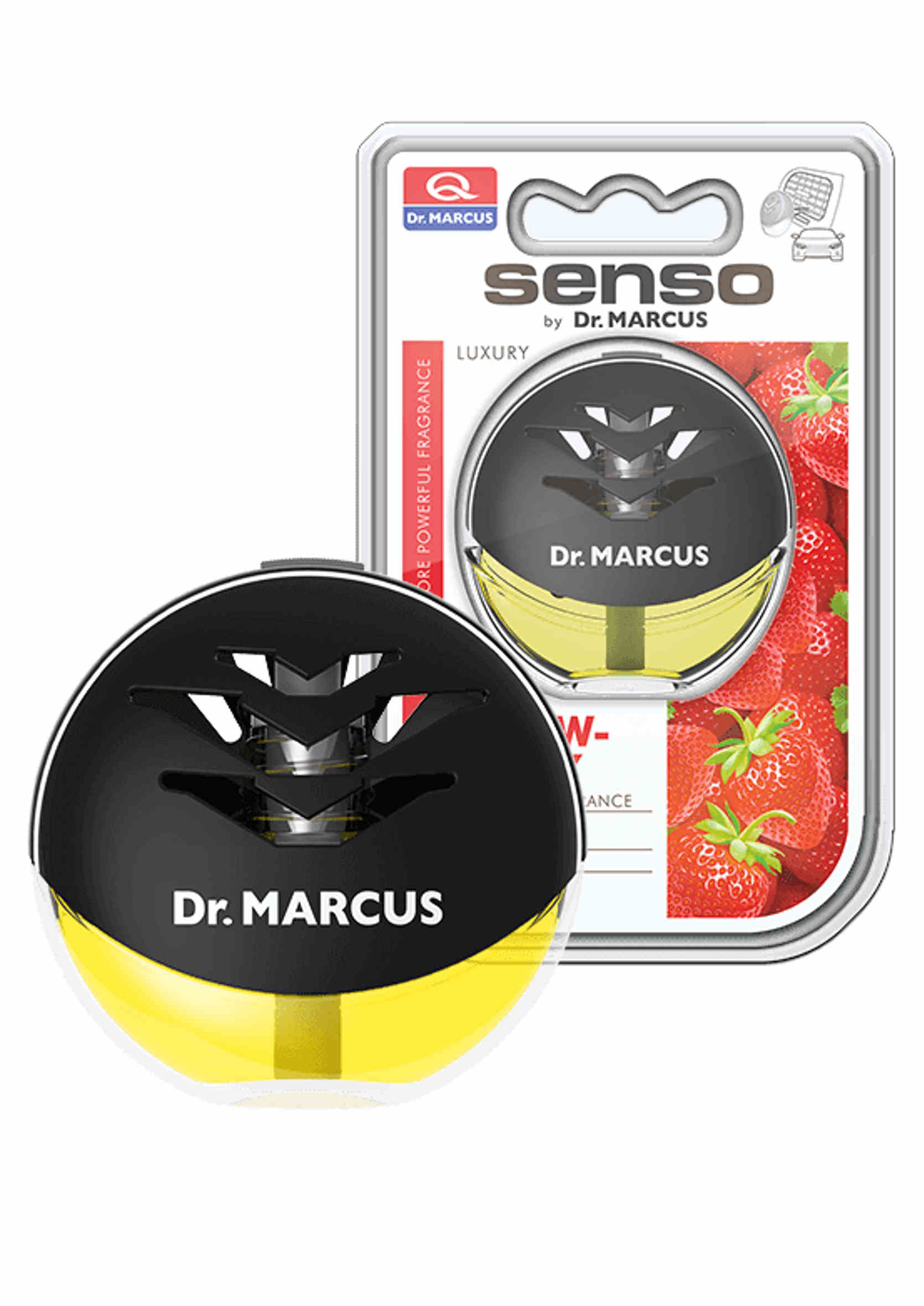 Dr. Marcus Senso Luxury Strawberry 10ml Zapach do Auta