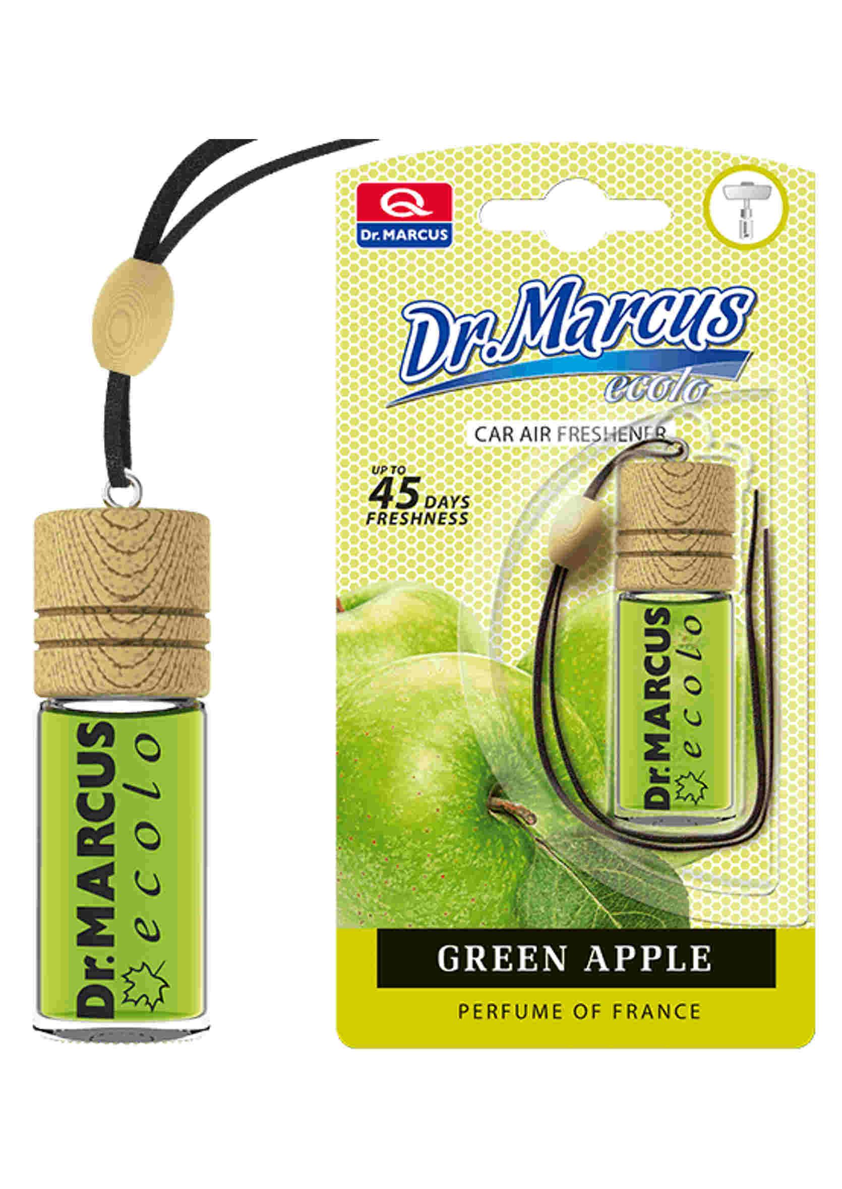 Dr. Marcus Ecolo Green Apple 4.5ml Odświeżacz Powietrza Zawieszka Zielone Jabłko