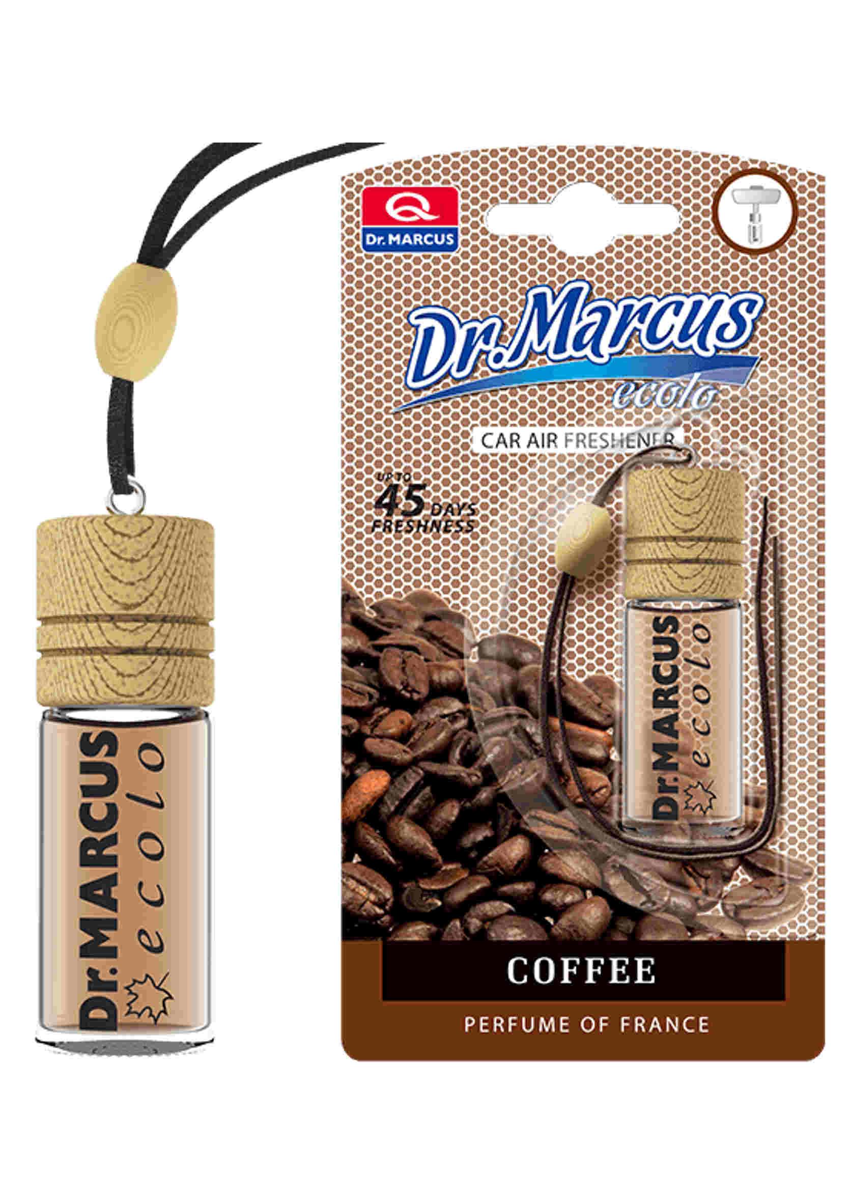 Zapach samochodowy Dr. Marcus Ecolo Kawa 4.5 ml