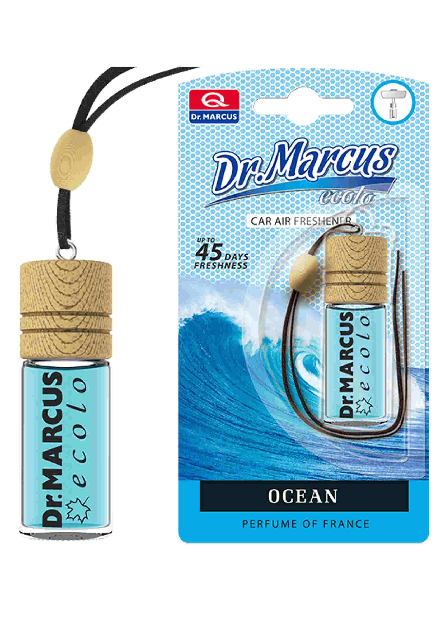 Dr. Marcus Ecolo Ocean 4.5ml Odświeżacz Powietrza Zawieszka Morski