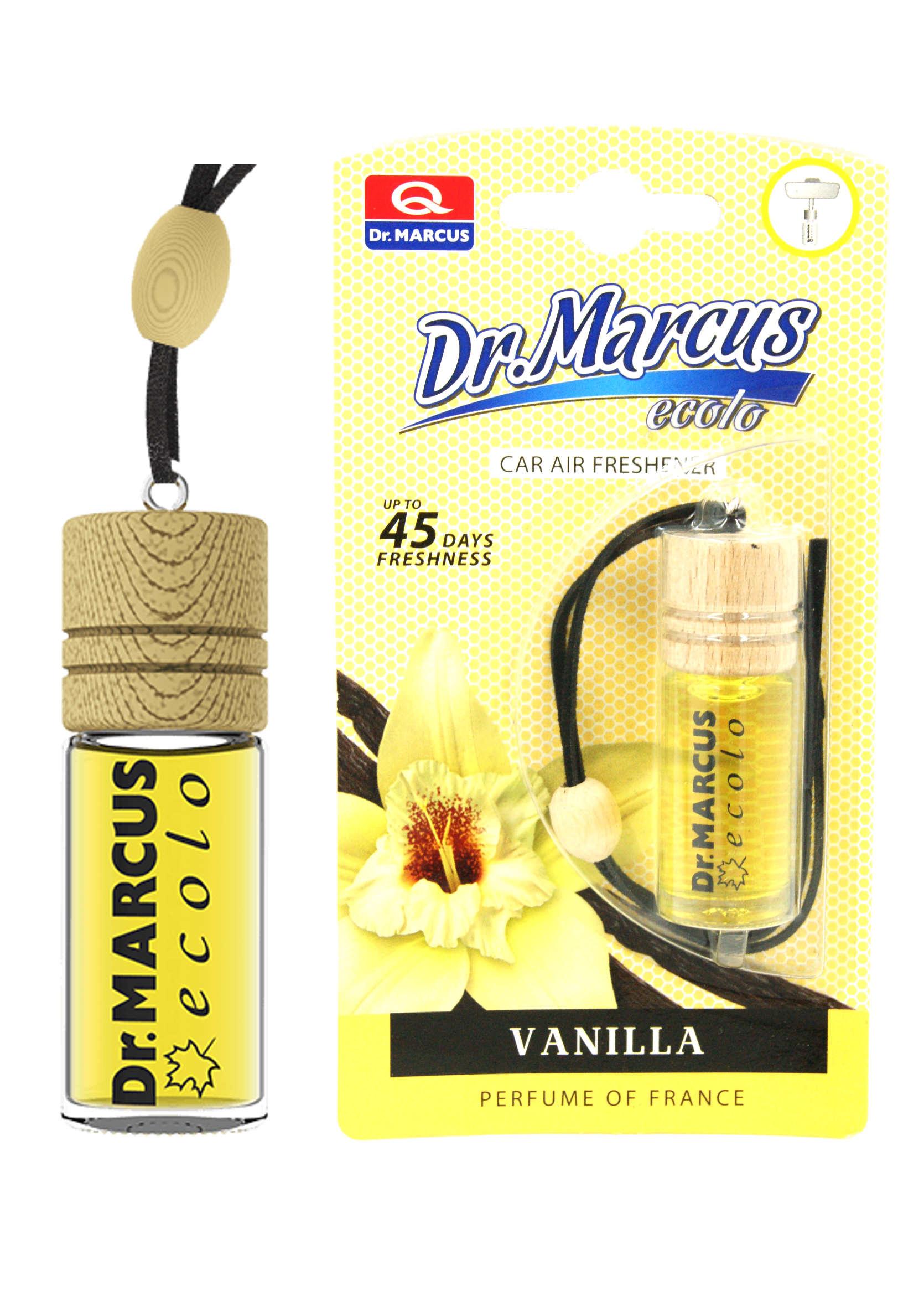 Dr. Marcus Ecolo Vanilla 4.5ml Odświeżacz Powietrza Zawieszka Wanilia