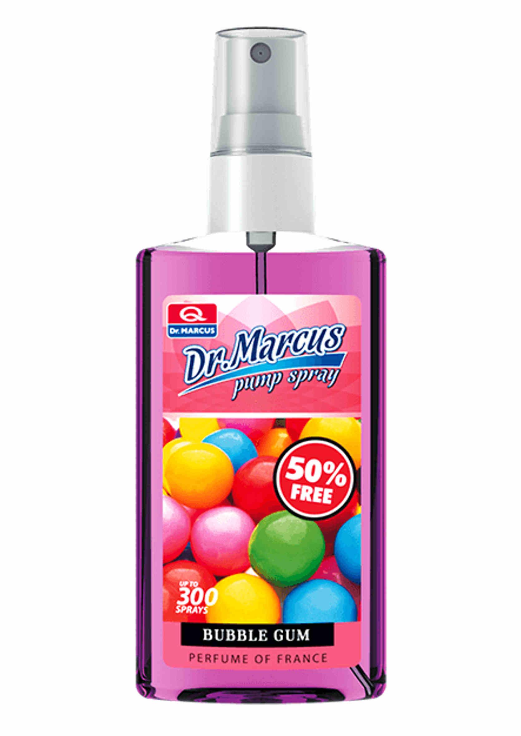 Dr Marcus Pump Spray Bubble Gum 75ml Odświeżacz Powietrza w Sprayu
