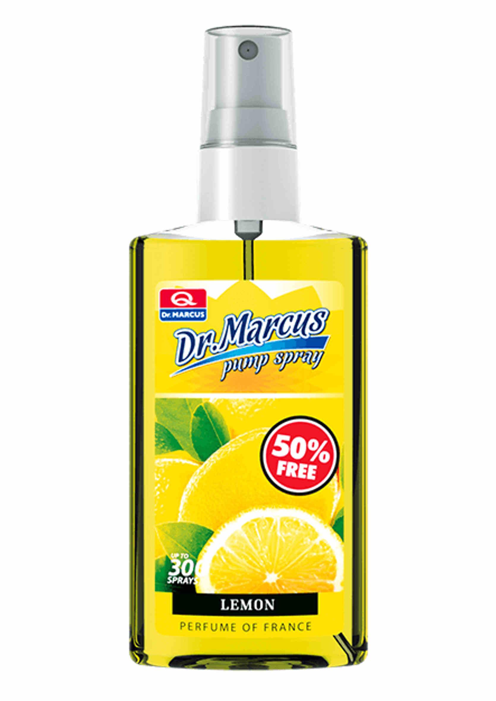 Dr Marcus Pump Spray Cytryna 75ml Odświeżacz Powietrza w Sprayu