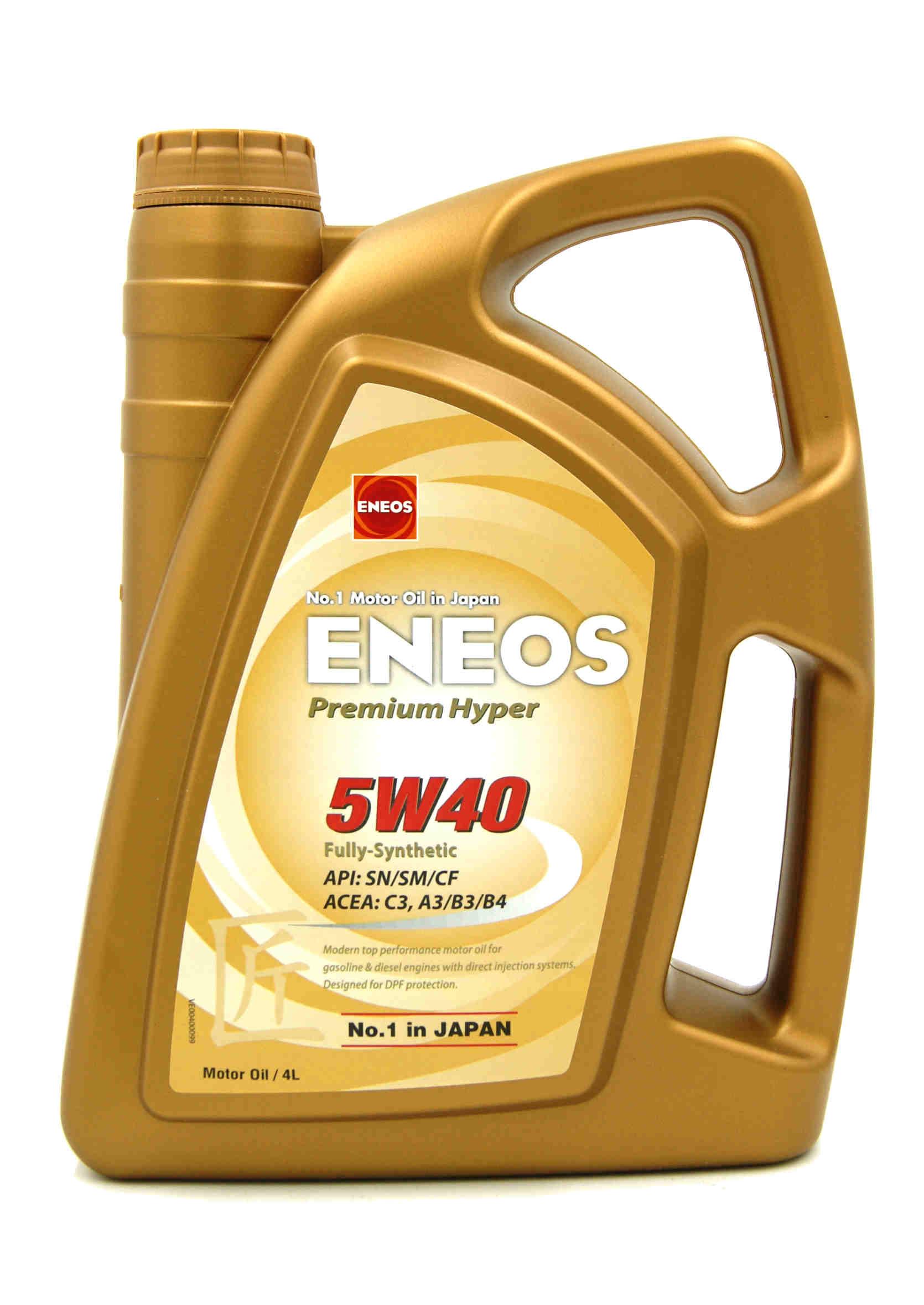 Eneos Premium Hyper 5W40 4L Olej Pełny Syntetyk