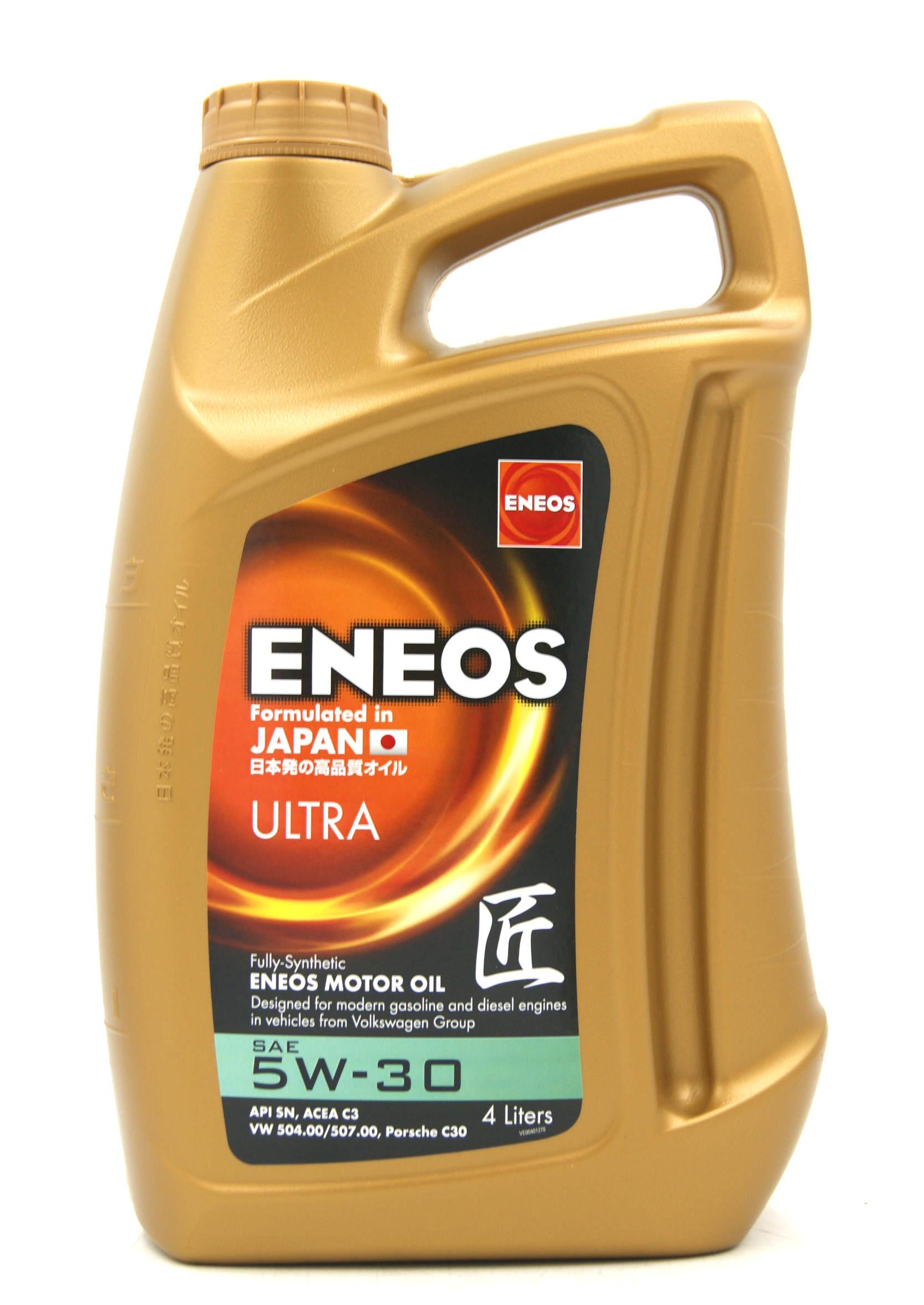 Eneos Premium Ultra 5W30 4L Olej Silnikowy Syntetyczny