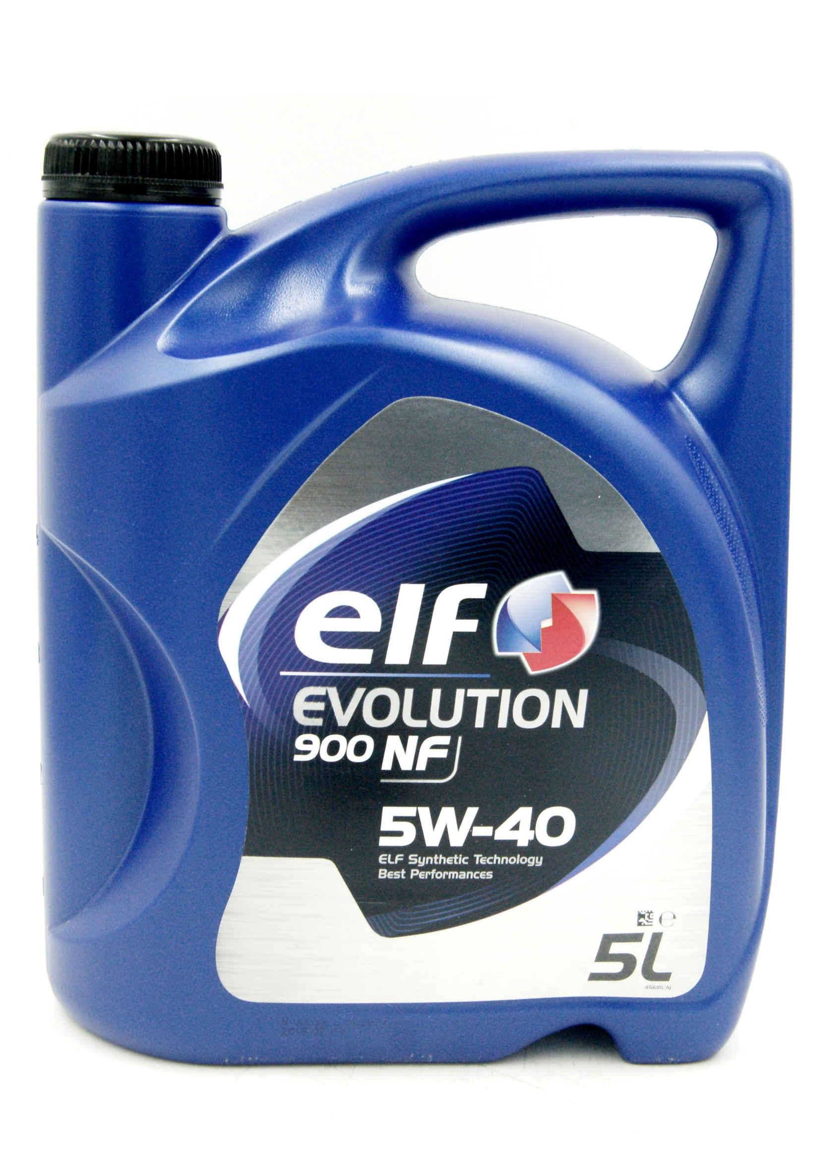 Elf Evolution 900 NF 5W40 5L Olej Silnikowy Syntetyczny